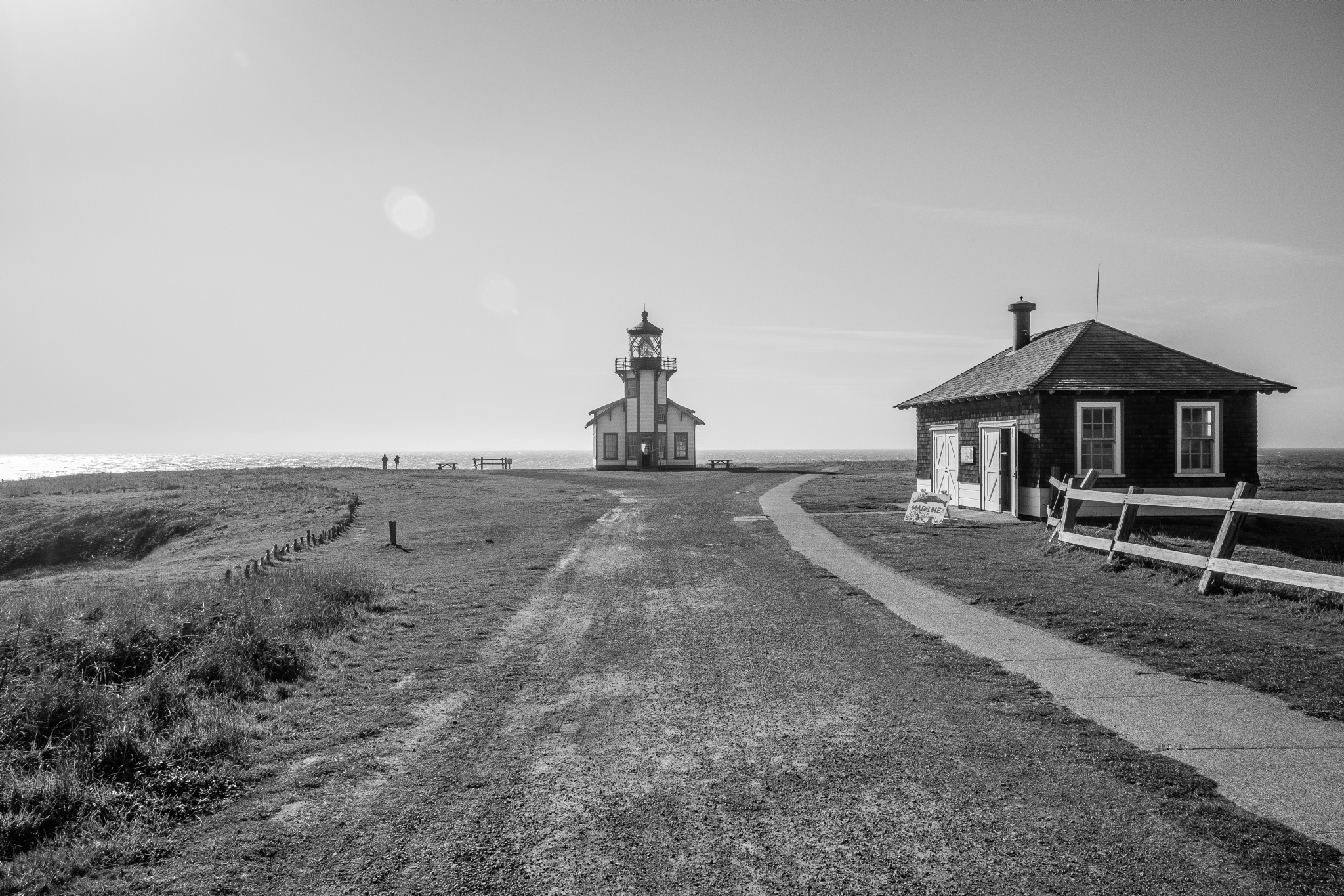 Point Cabrillo Lighthouse by James Hicks