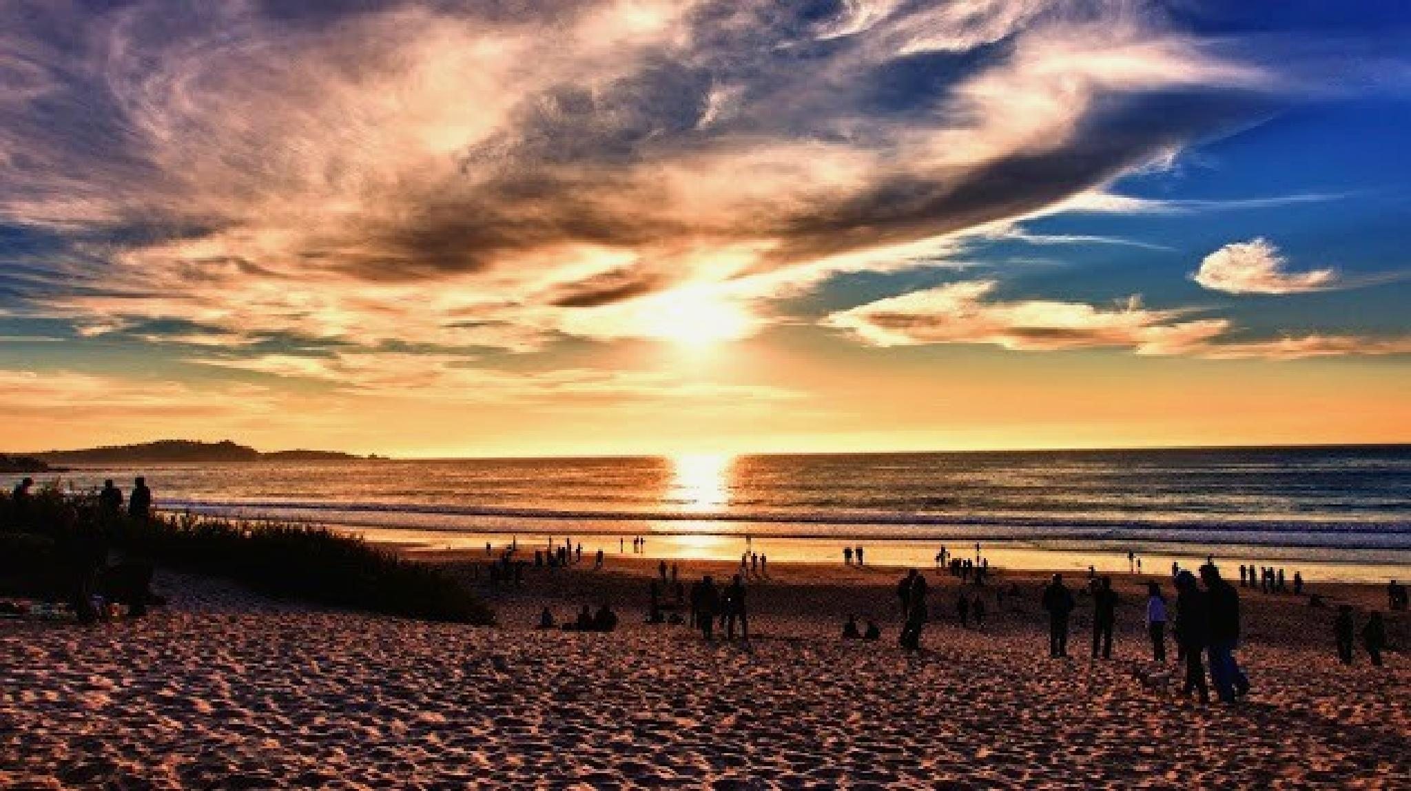 Beach by Nascimento