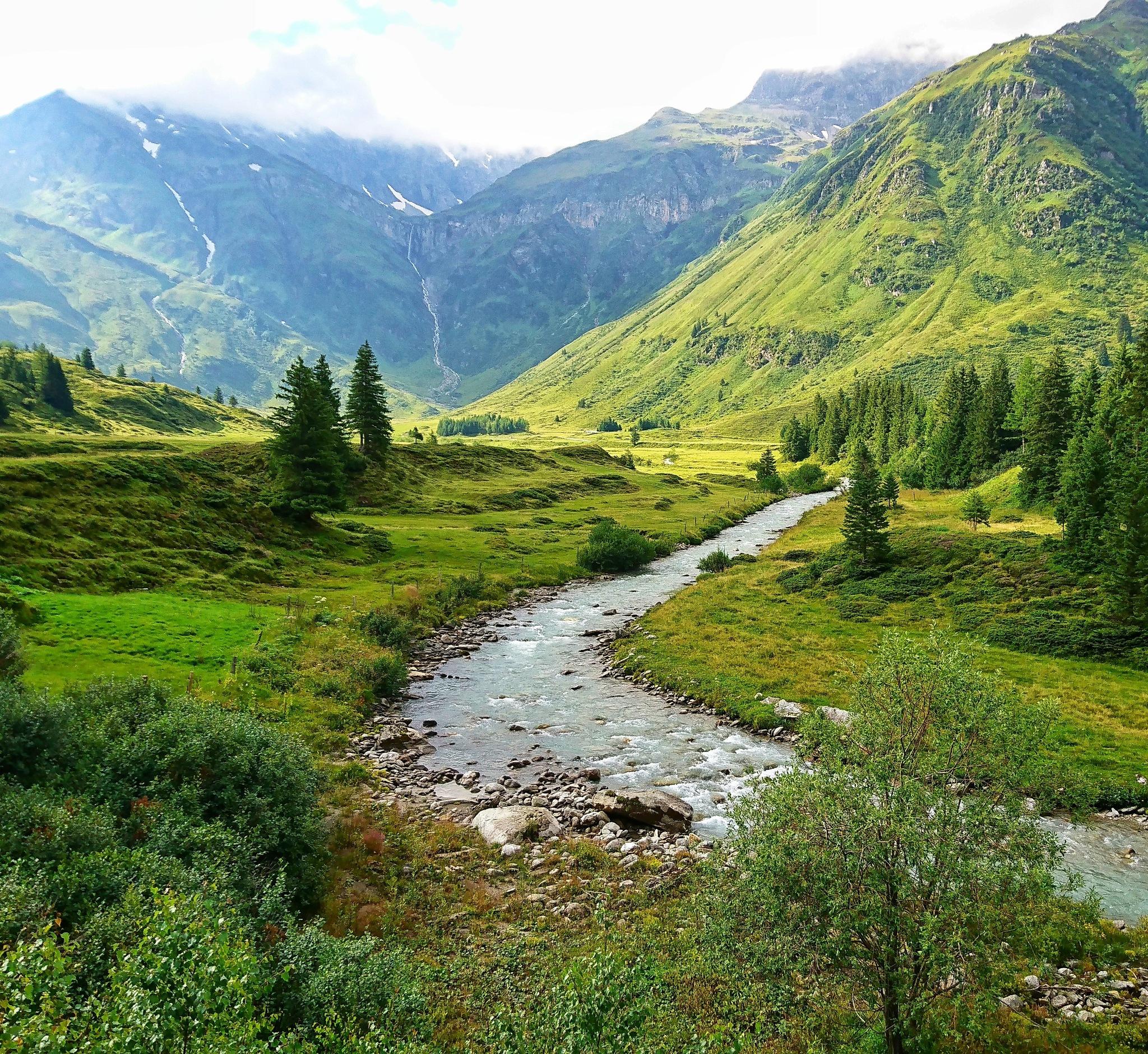 Nassfeld, Austria by Krister Honkonen