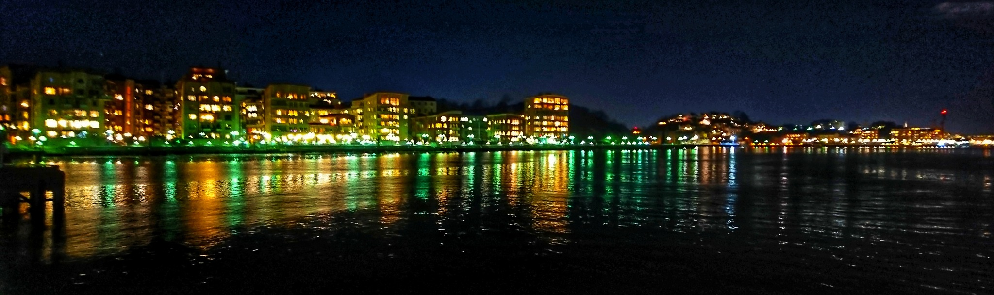 Eriksberg by night  by Krister Honkonen