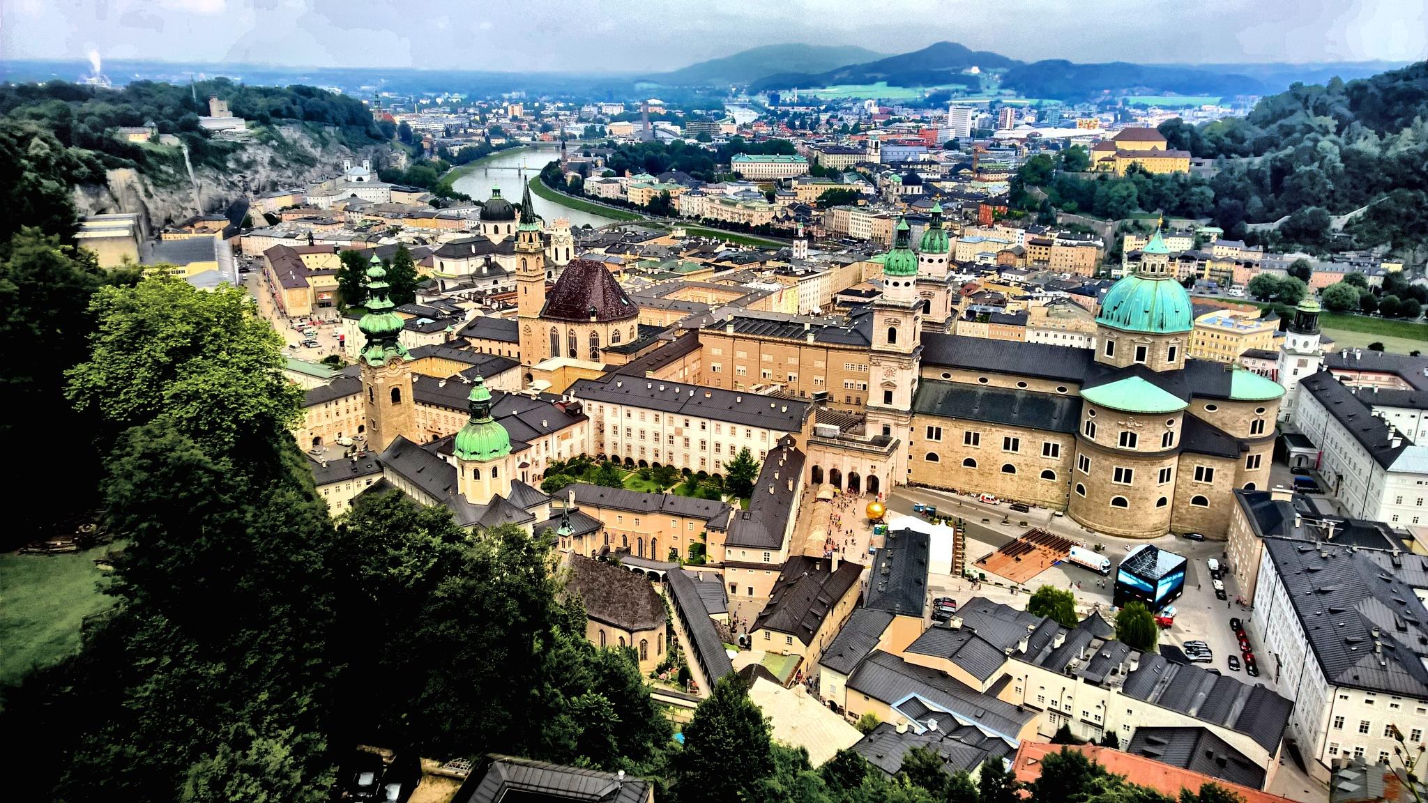 Salzburg Austria by Krister Honkonen