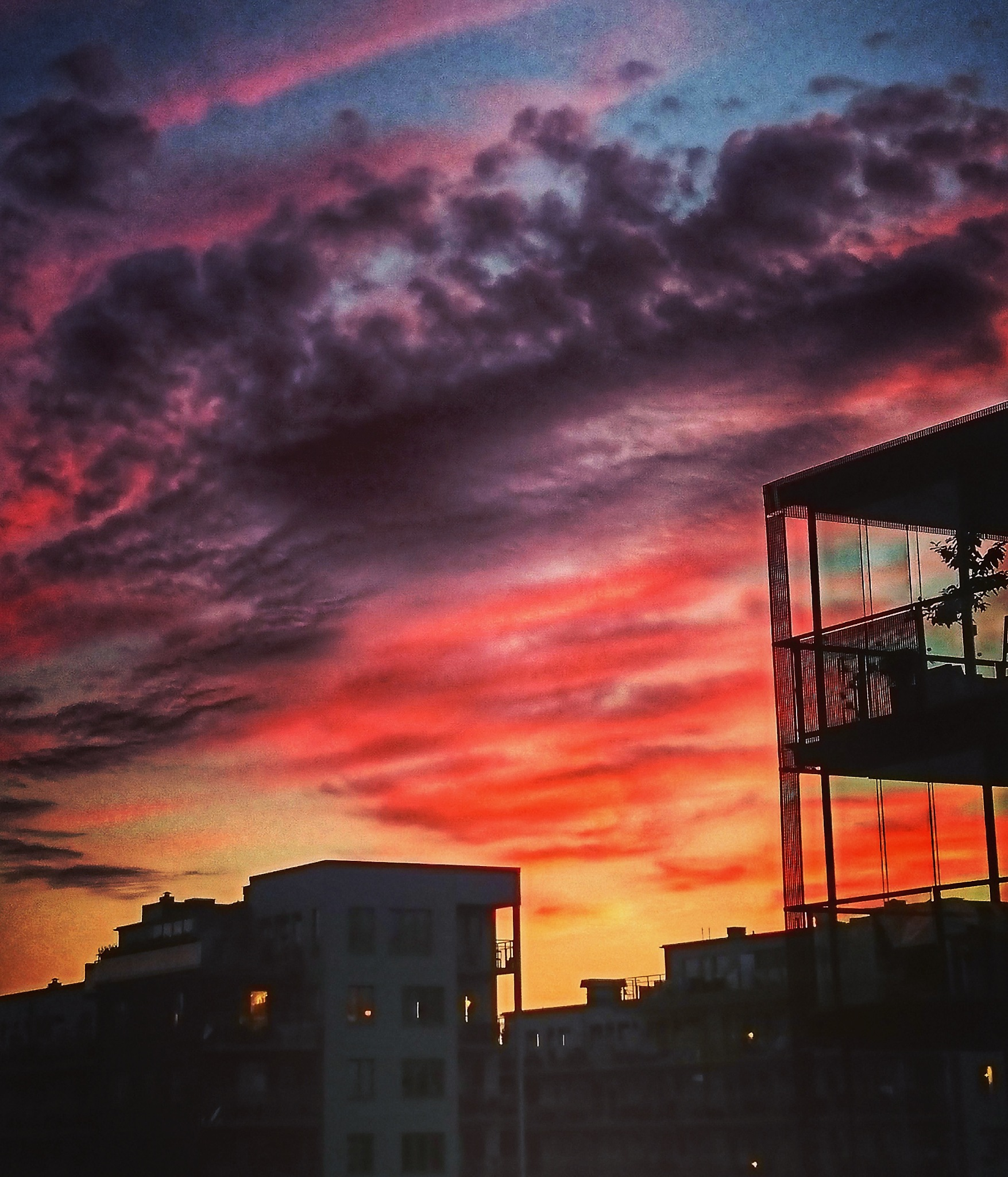 #sunset  by Krister Honkonen