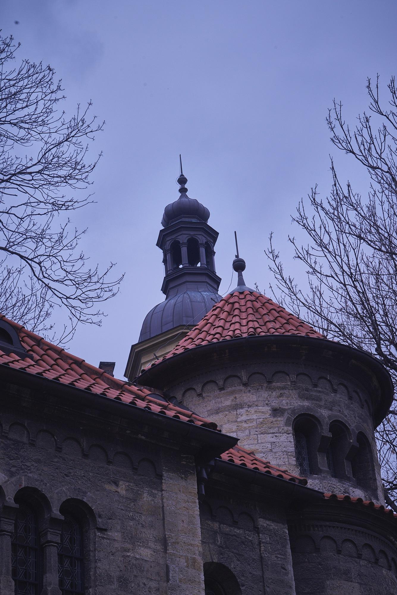 Old Jewish quarter Prague by Peter Buck
