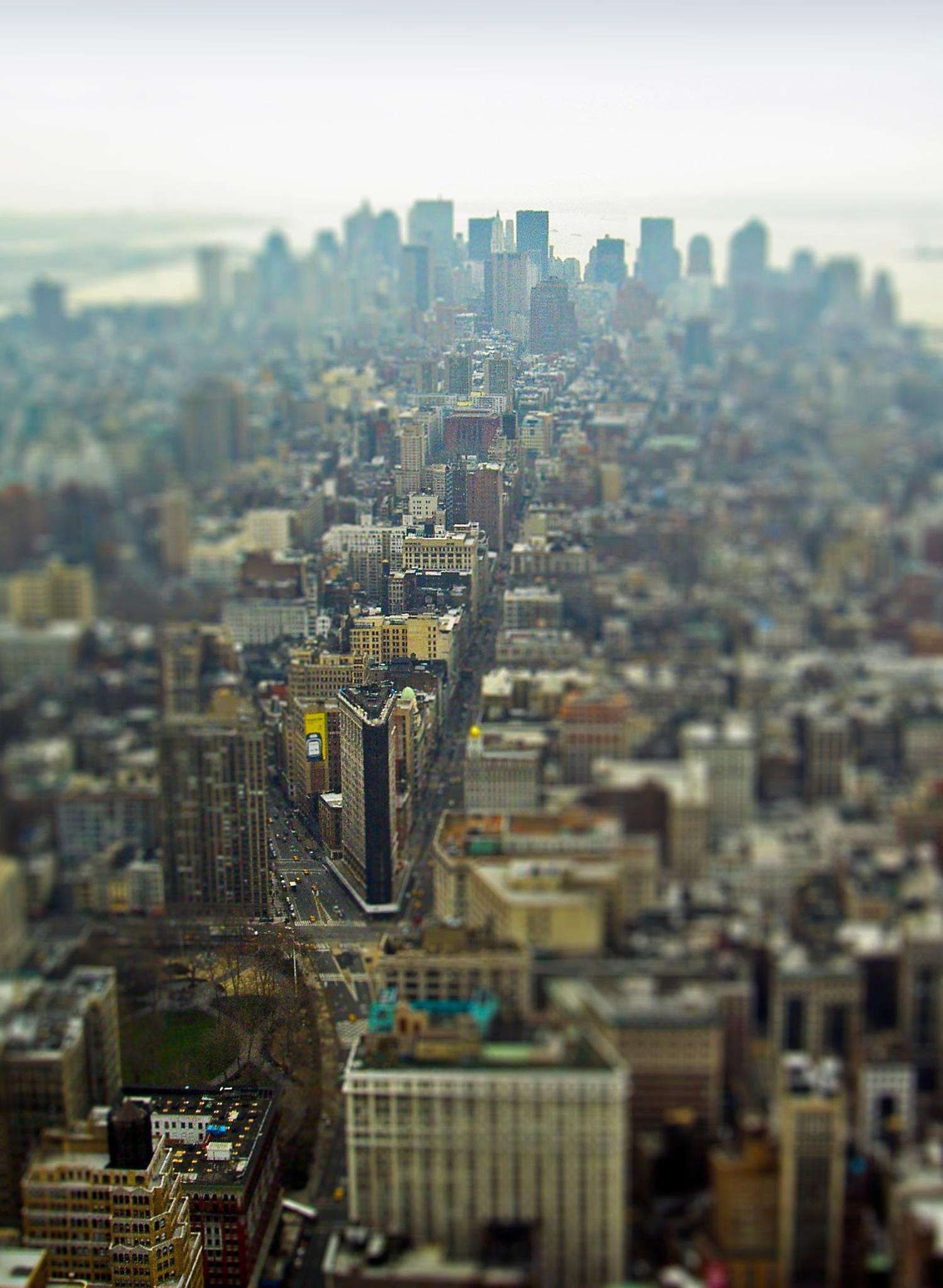 Manhattan miniature by Håkan Arnbert