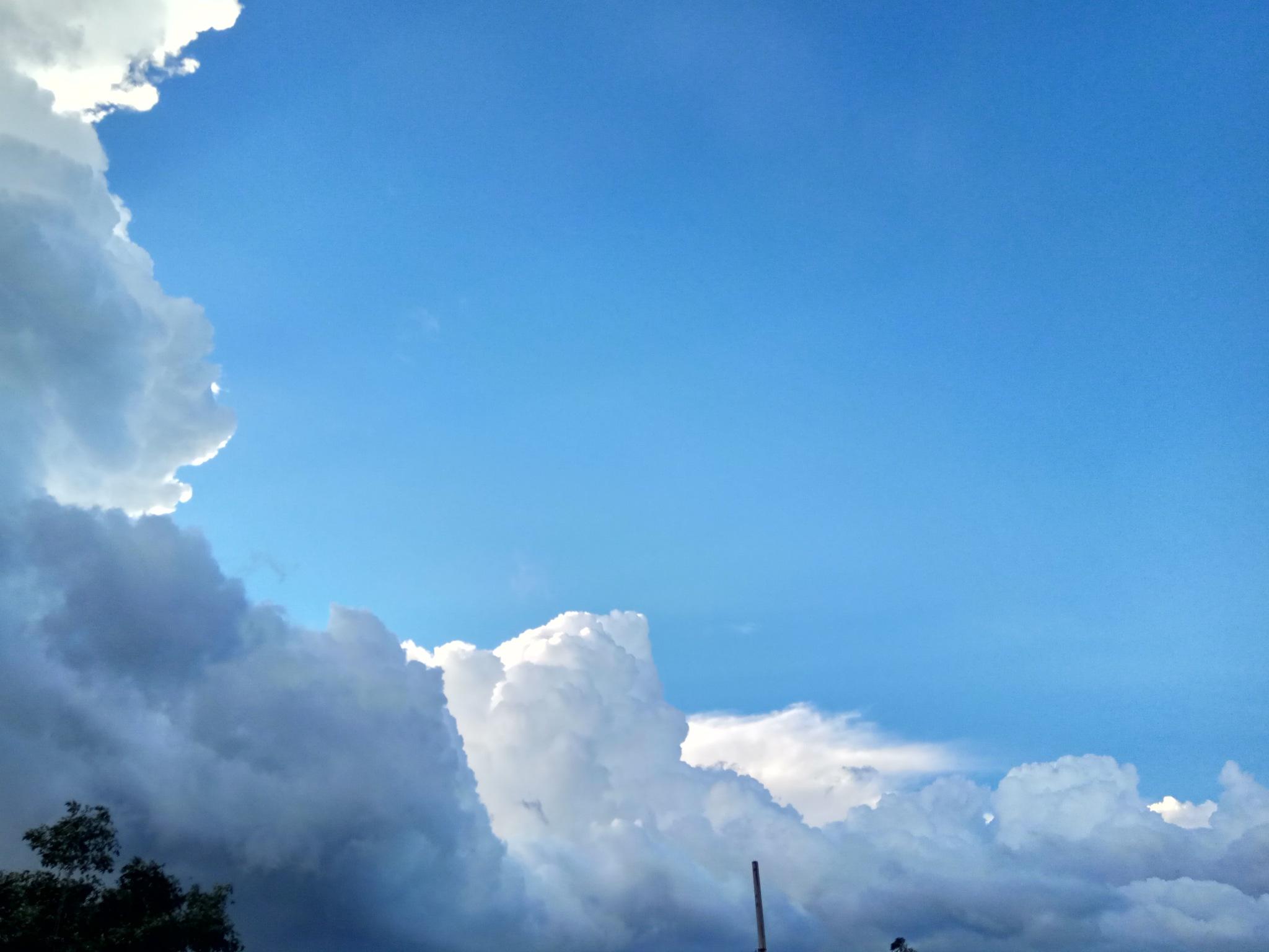 cloudy blue by Hasnat Hamim Swachcha