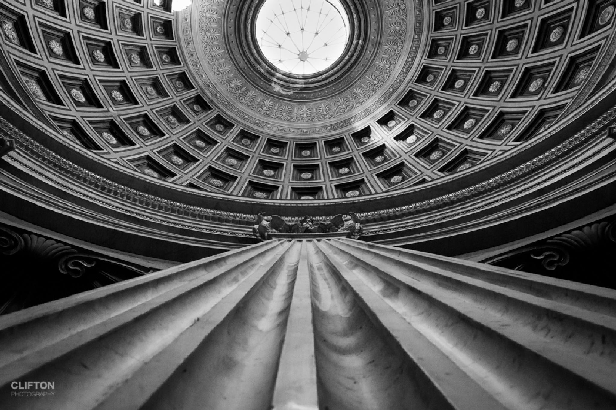 Roman dome by Paul Clifton