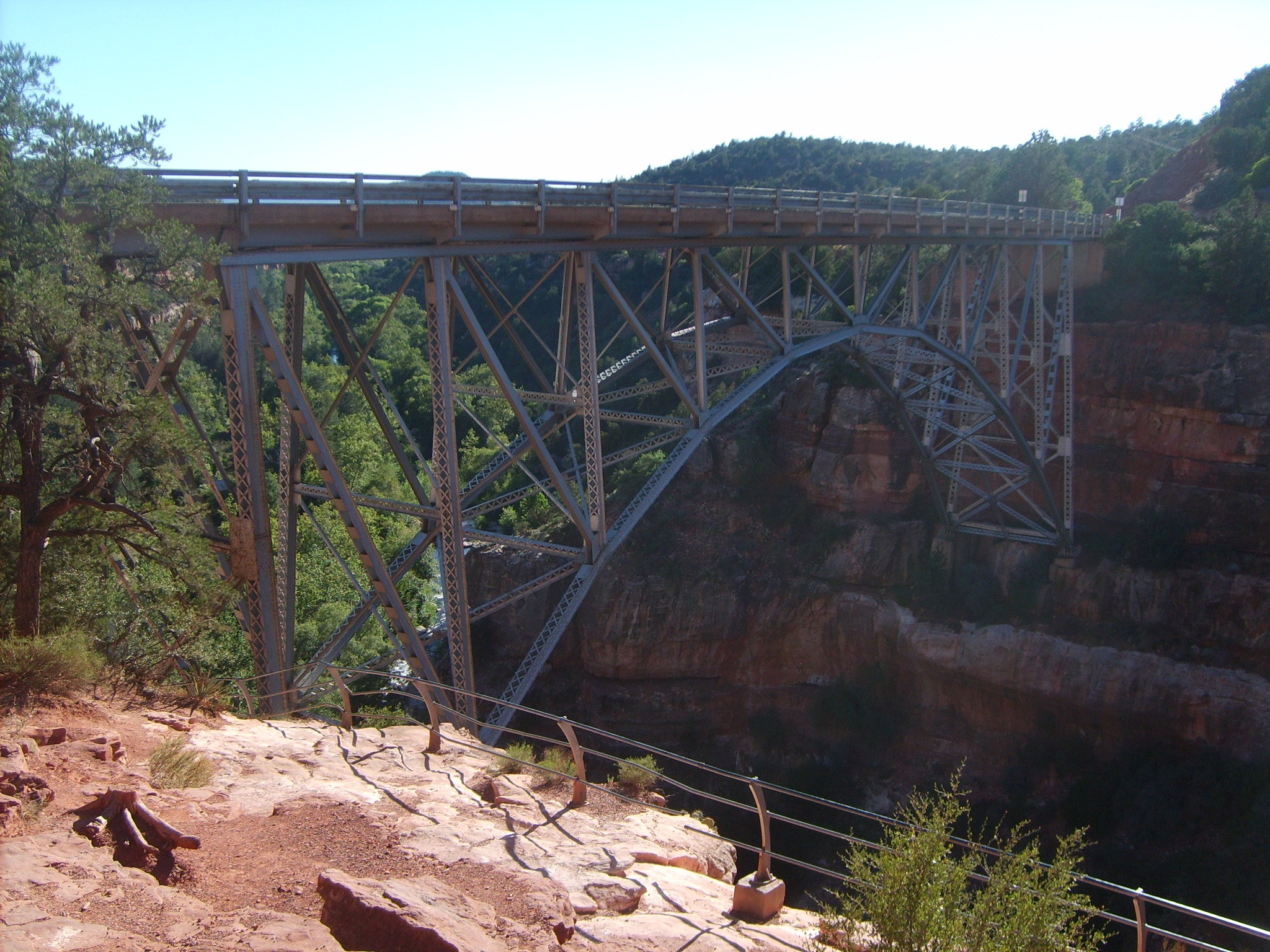 Bridge to Sedona by William Peters