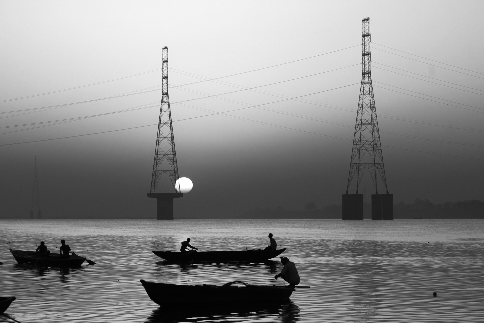 Colorless Morning by Sumit Gupta