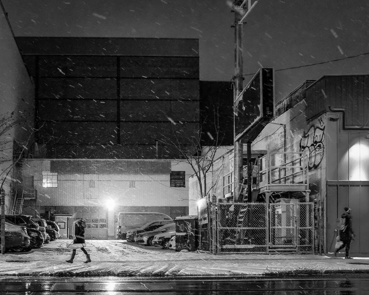 City snow walk by Salam Yahya