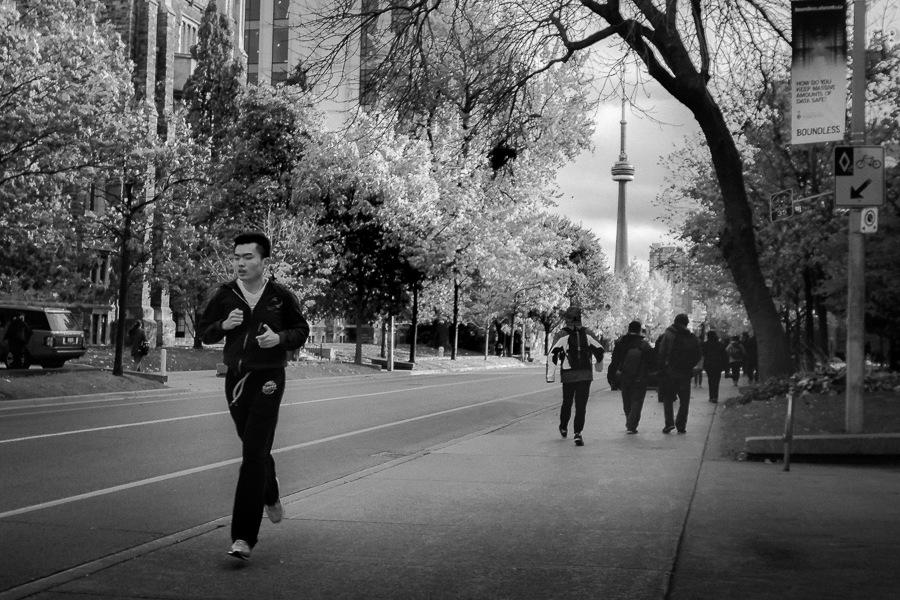 Silly walk city by Salam Yahya
