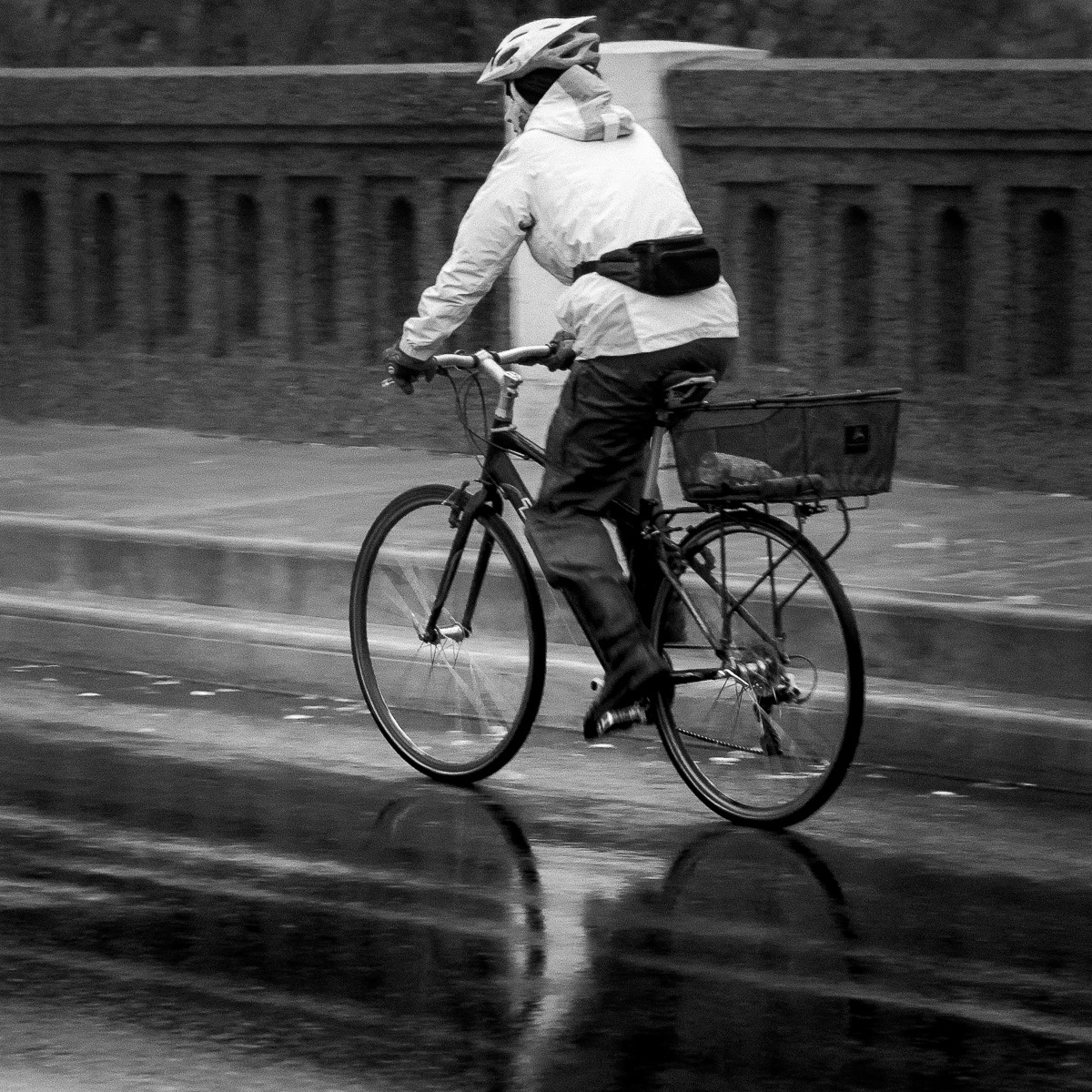 The rain won't stop me by Salam Yahya