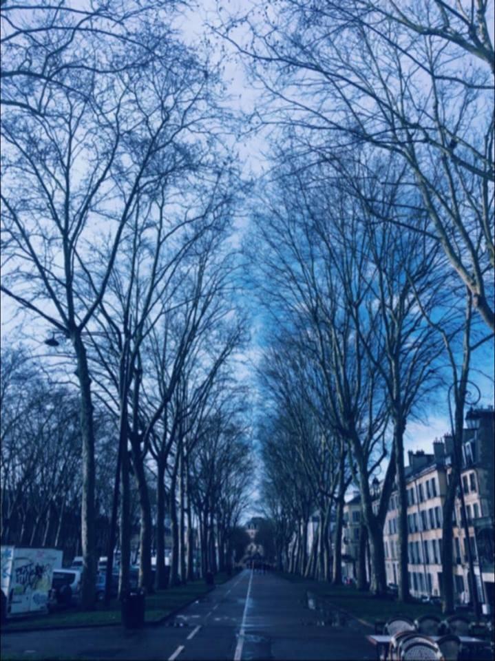 In the streets of Paris by Ichraq Sabbani