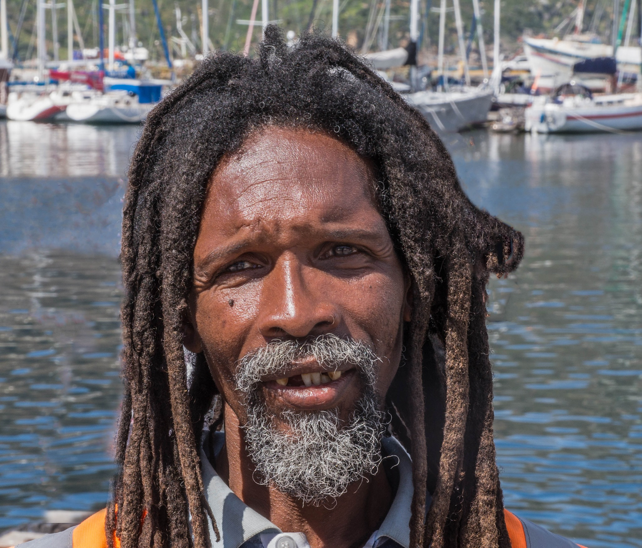 harbour man  by martin