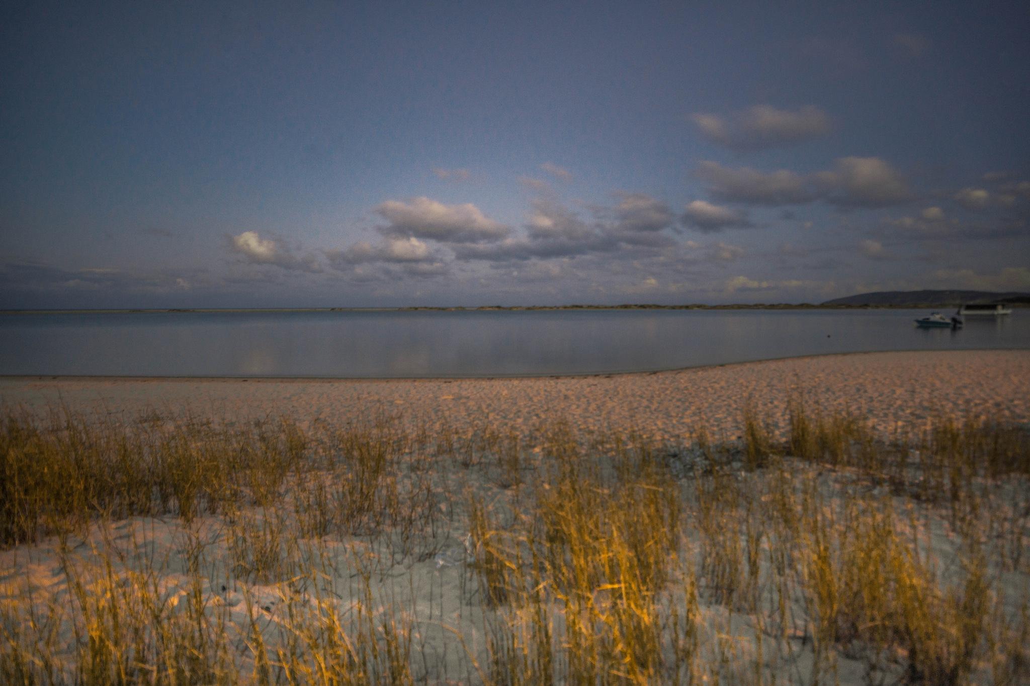lagoon sunset  by martin