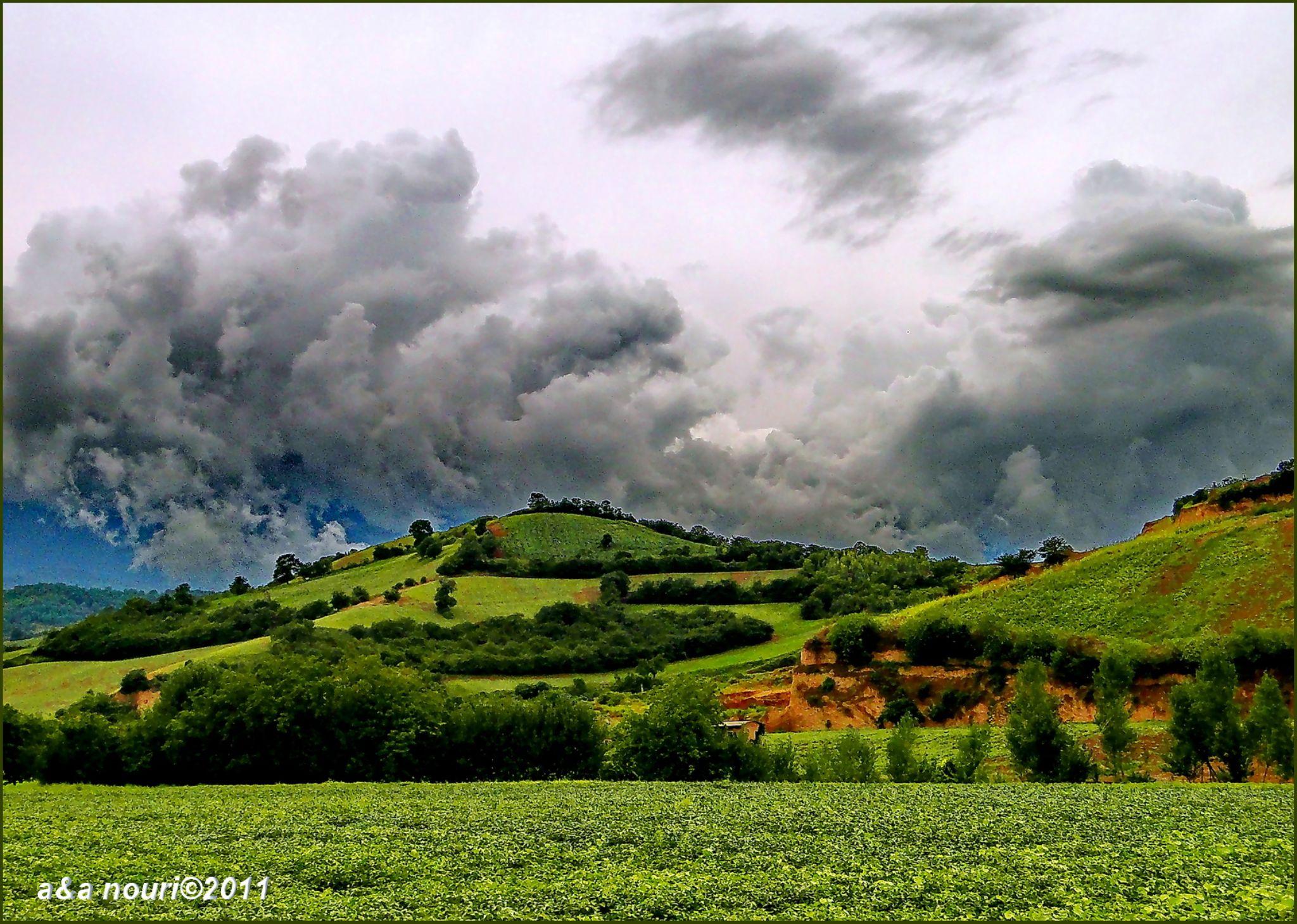 Gorgan's nature by Akbar Nouri