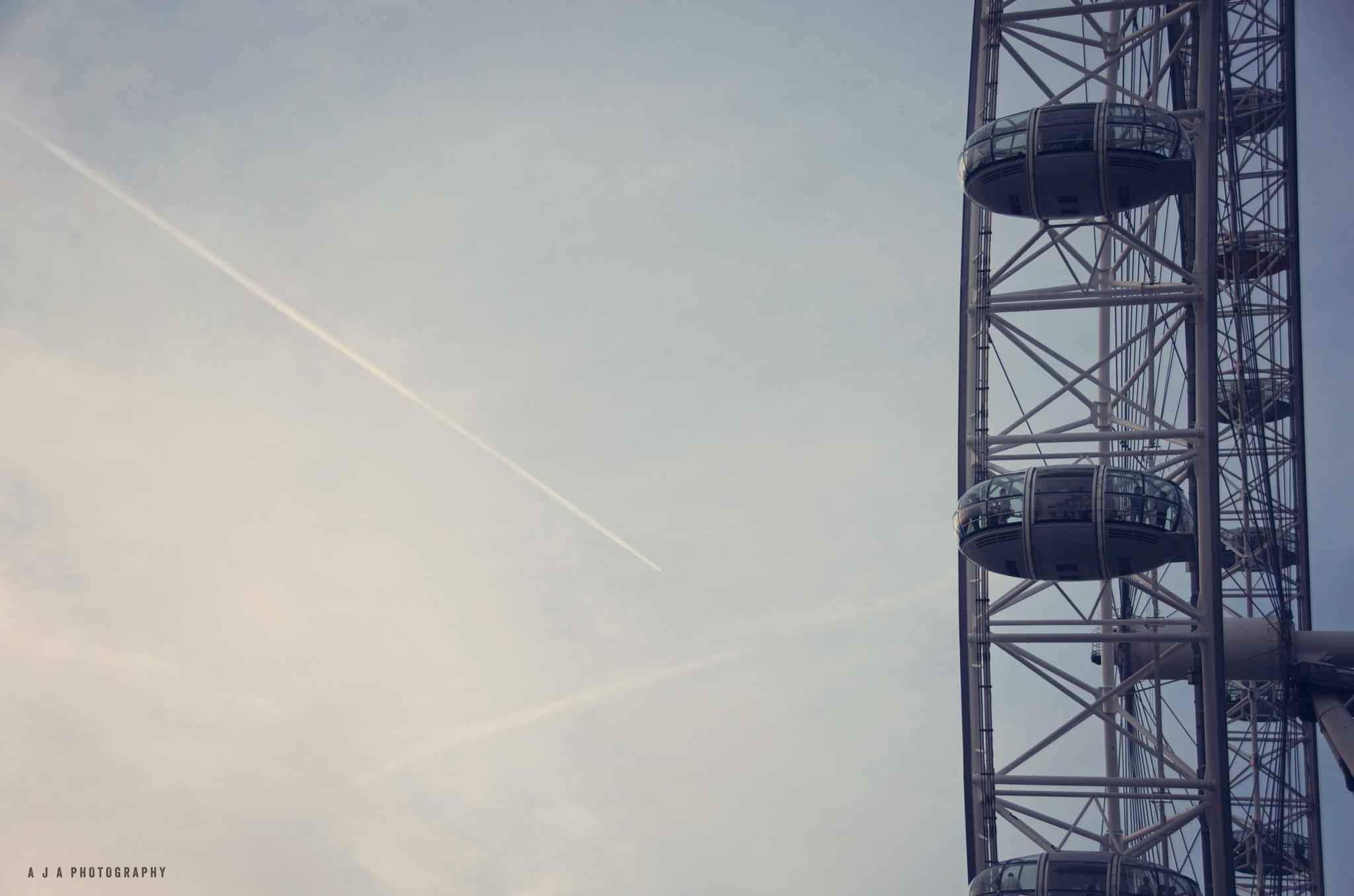 London Eye  by Alison Tuffin