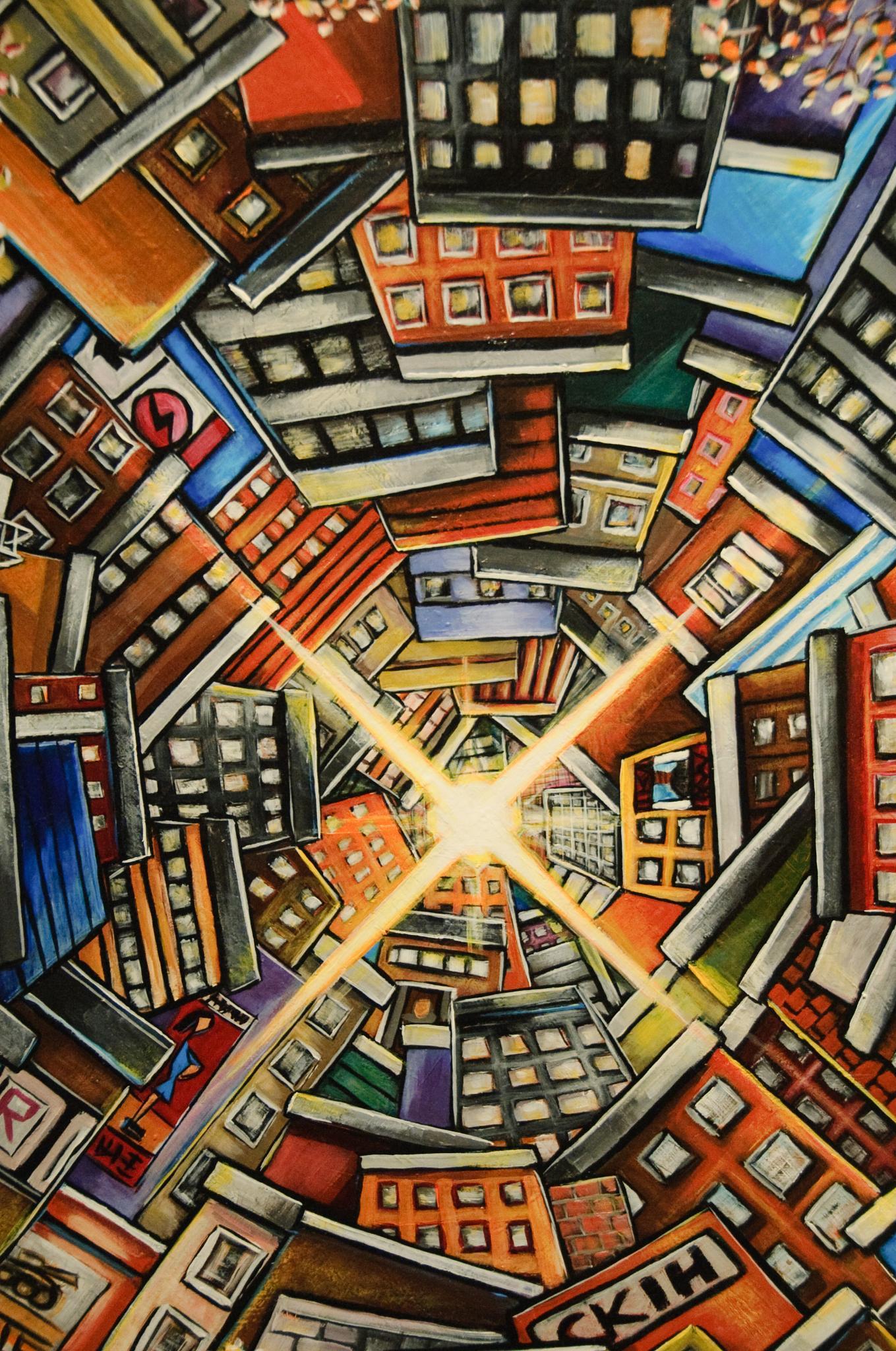 Street Art Last THursday by Geoffrey Squier Silver