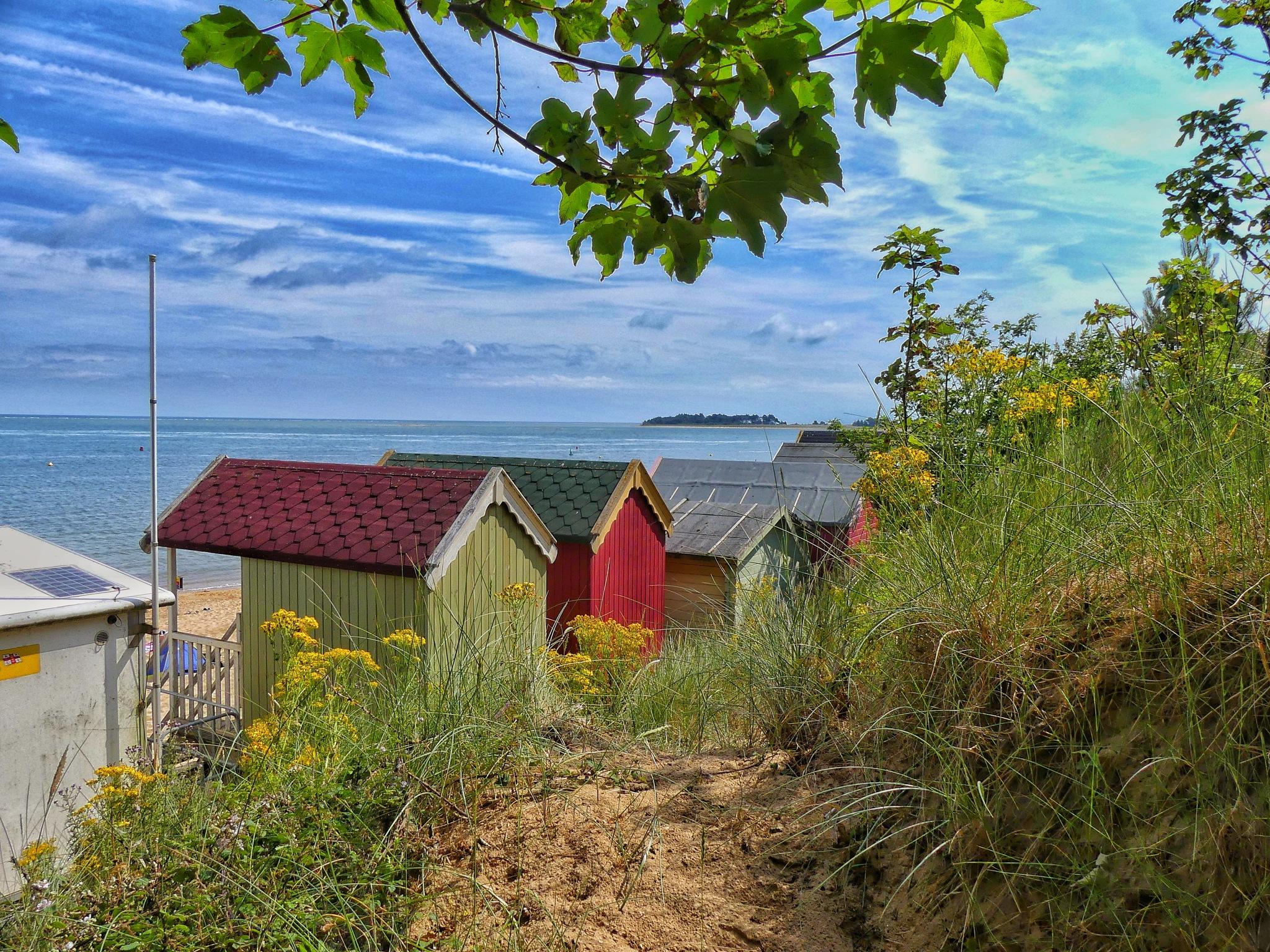 Wells-next-the-sea beach hut. by David Starkey