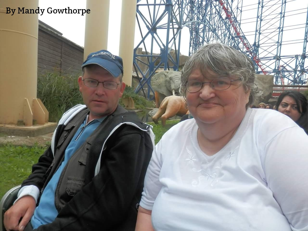 My mum and brother  by mandy gowthorpe