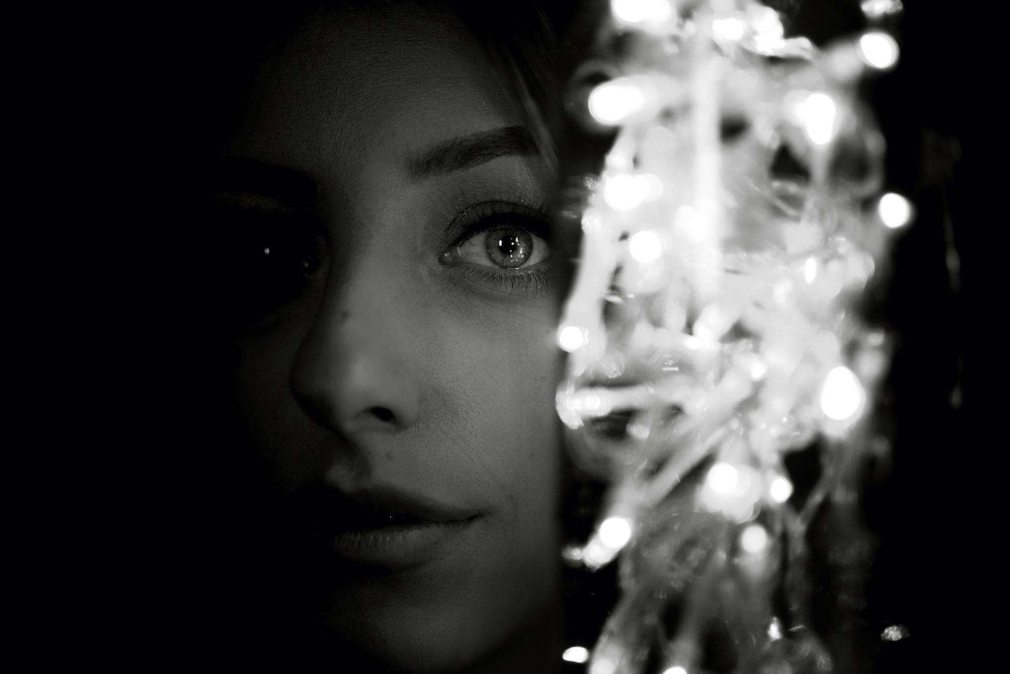 Photo in Fine Art #fantasy #portrait #black and white #dreams #fine art
