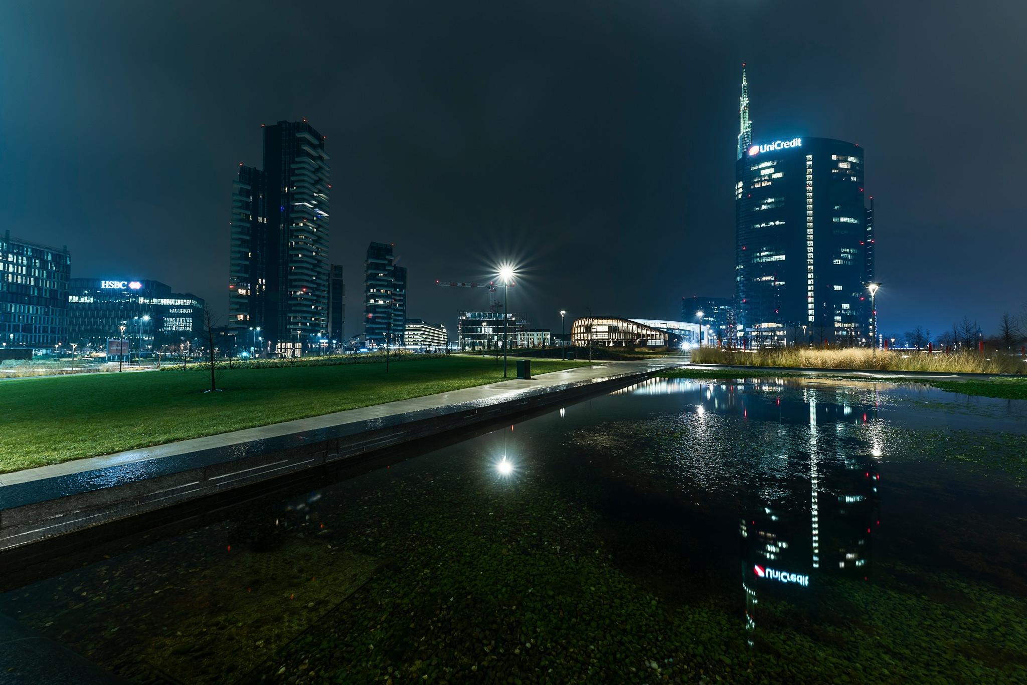 City lights by Mauro De Vita