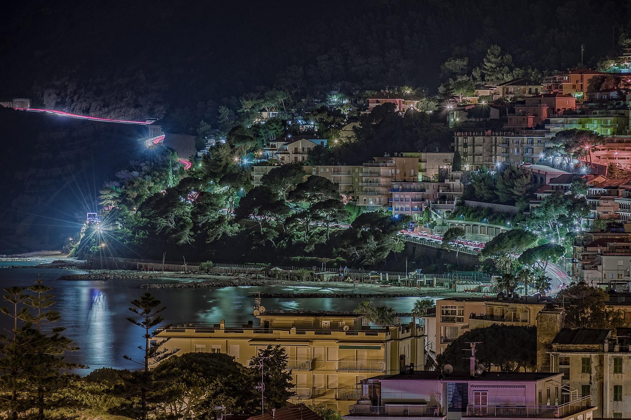 Lights in the night by Mauro De Vita