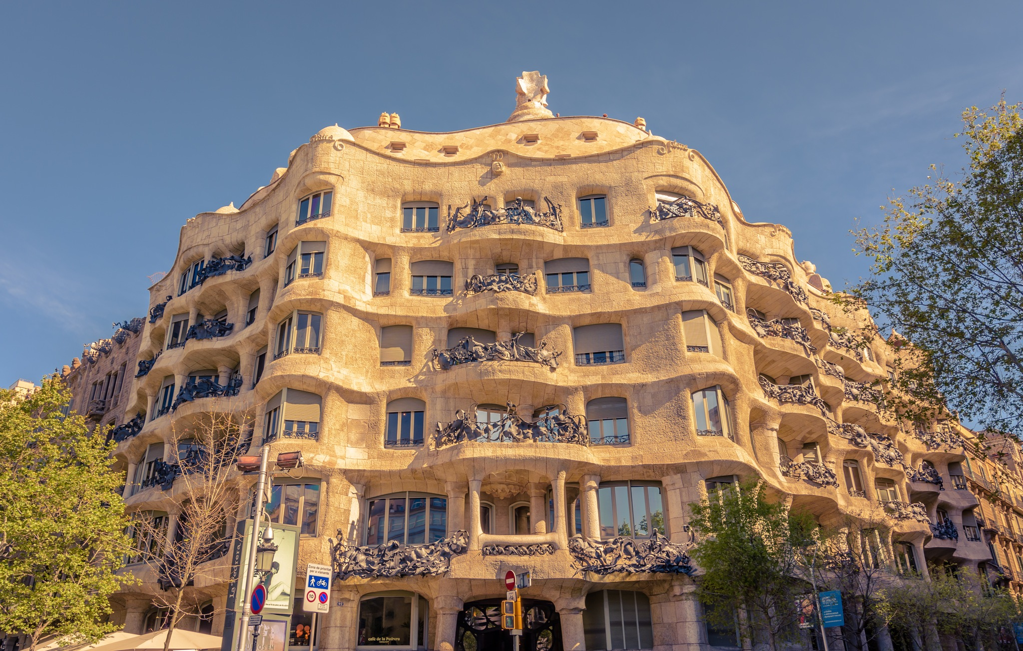 Casa Mila by Dominik Murko