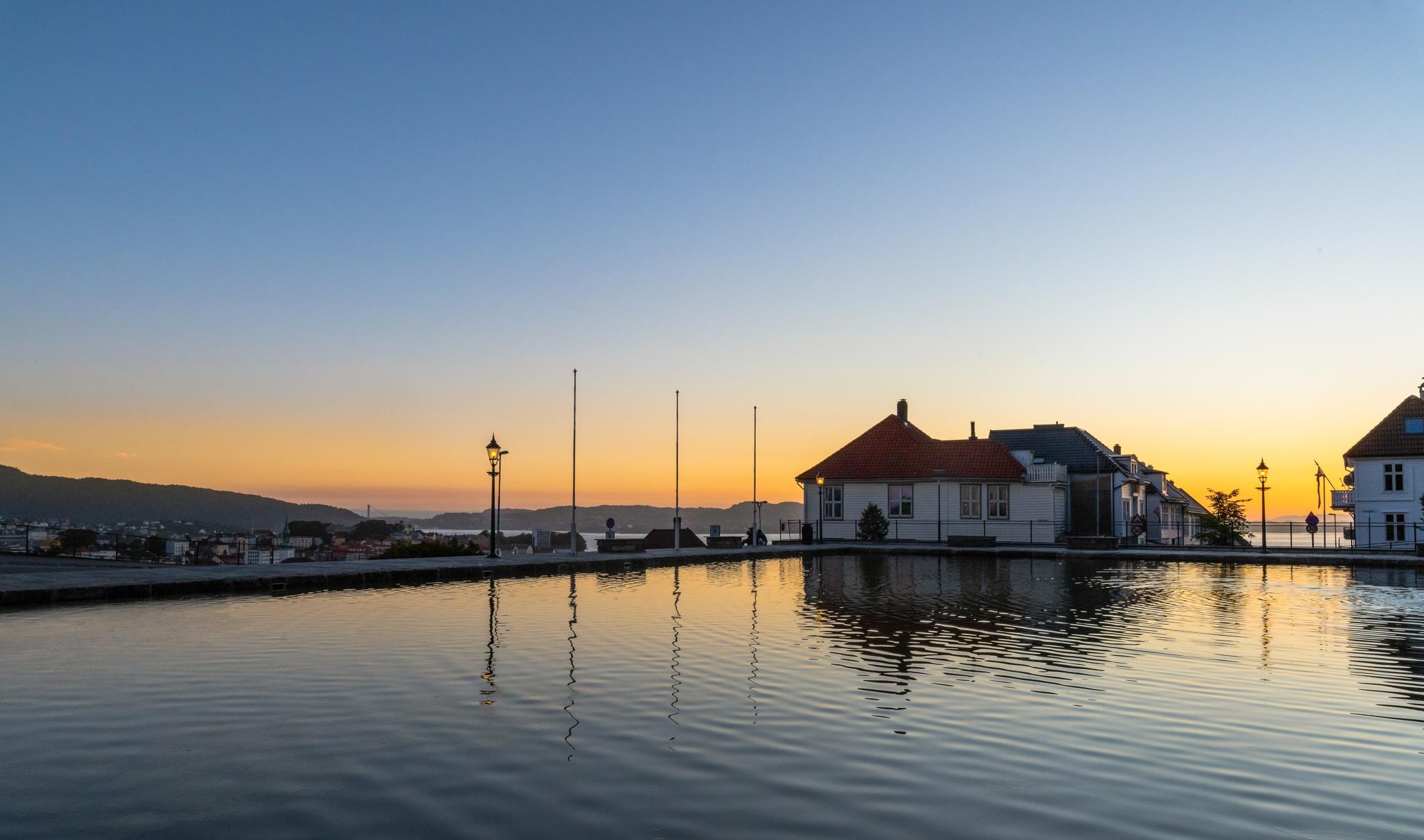 After sunset by Svein-Rene Kraakenes