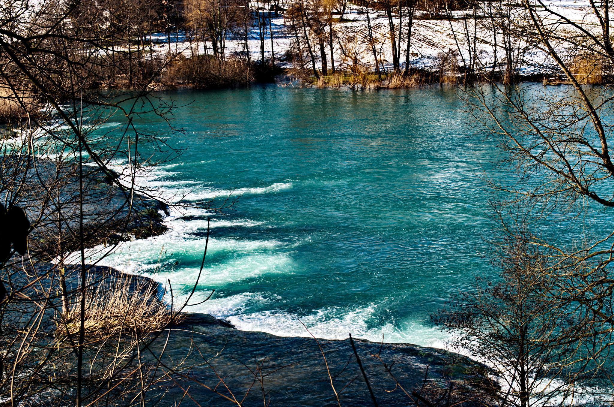 rijeka Mrežnica by Zdravko Sudac