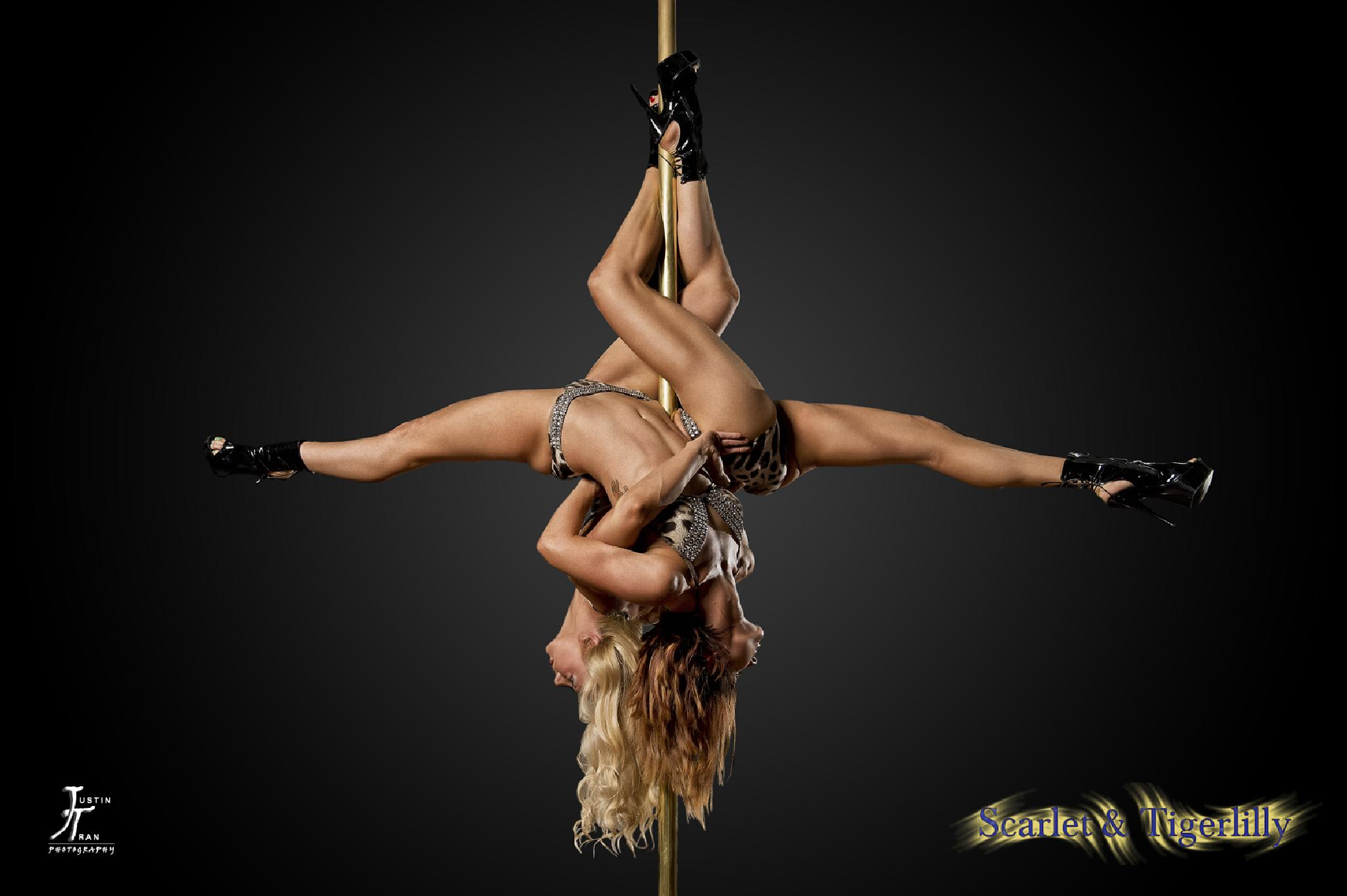 Pole Dancing - Intertwined by Justin Tran