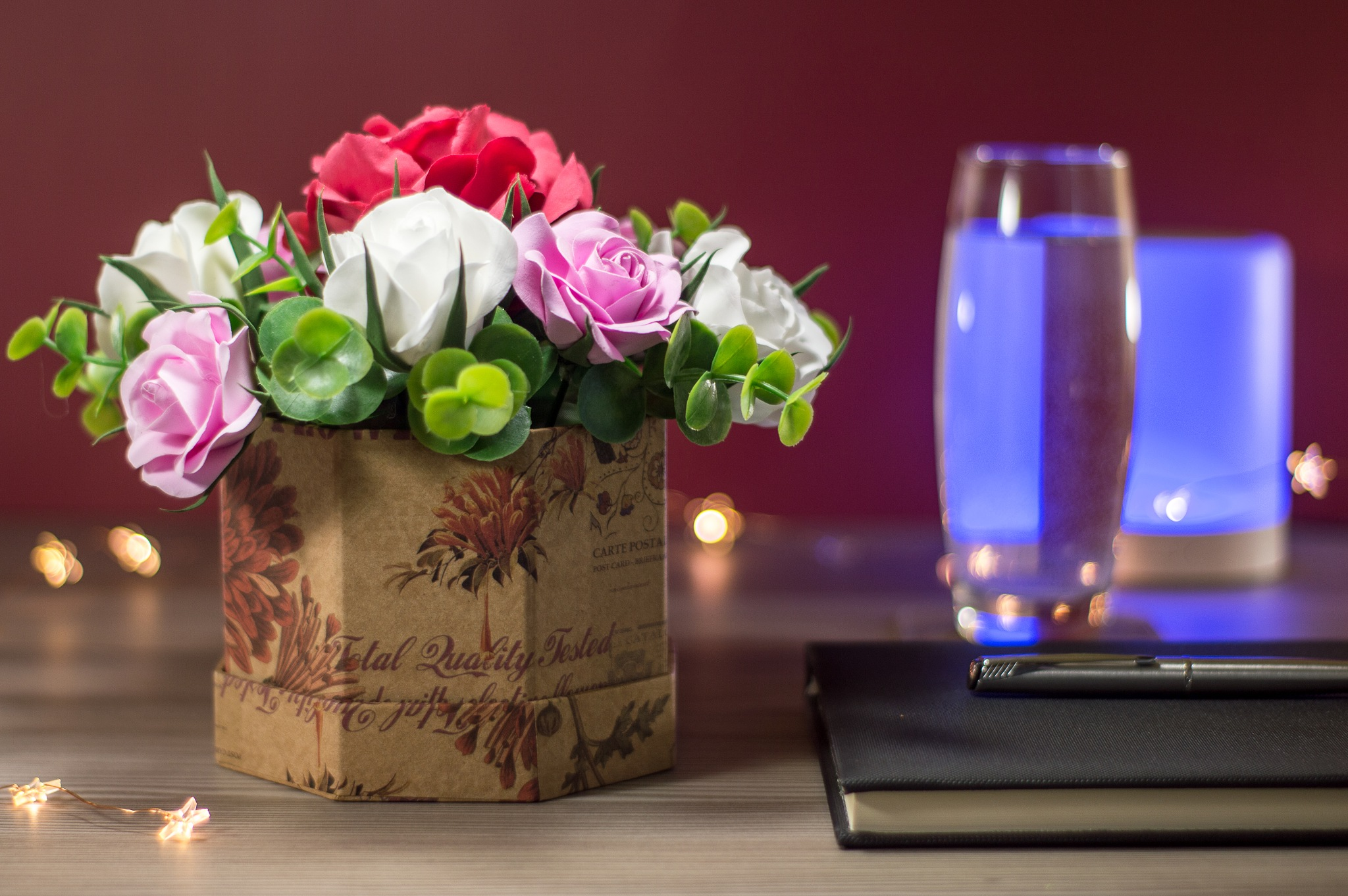 Handcrafted Rosebox by Andrei Dragusan