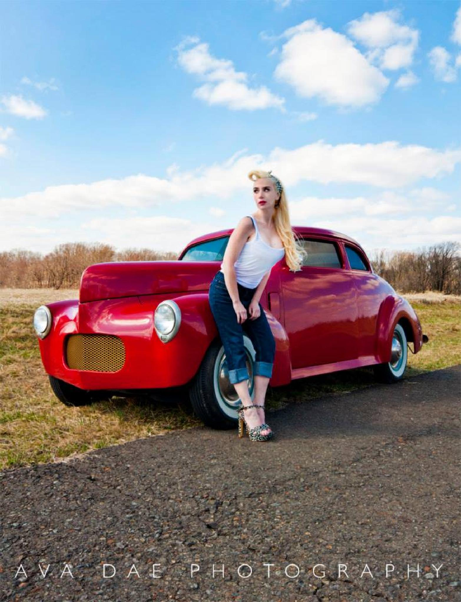 Hot Rod Pinup by Ava Dae Photography