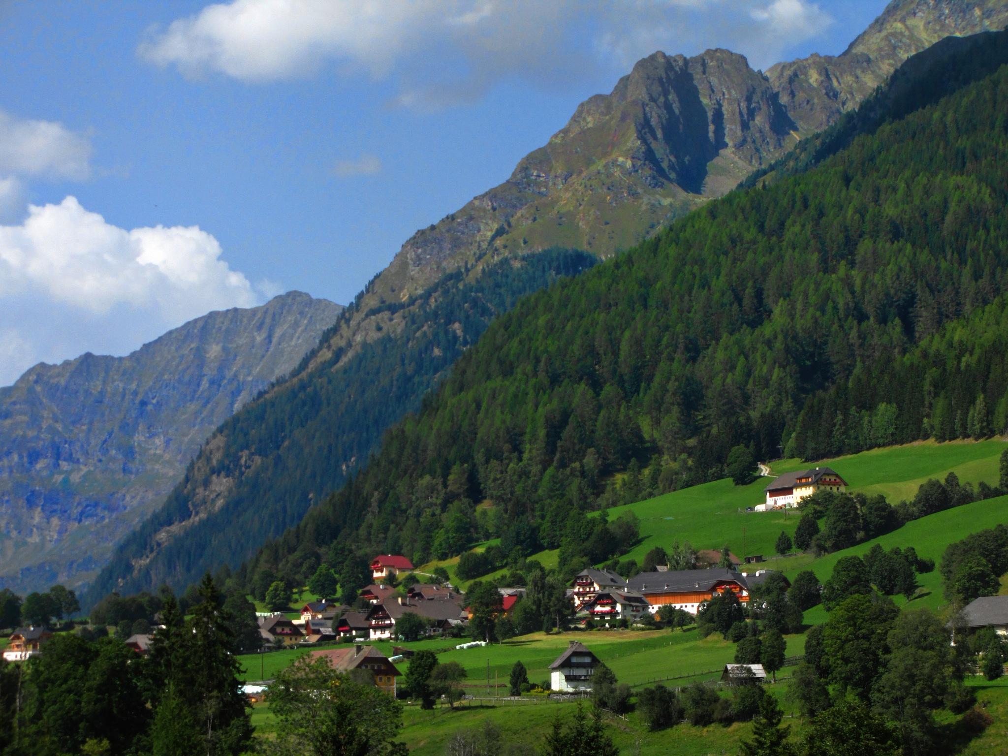 My great-grandfather's birthplace (Göriach - Salzburger Lungau - Austria) by Z_e_n_o