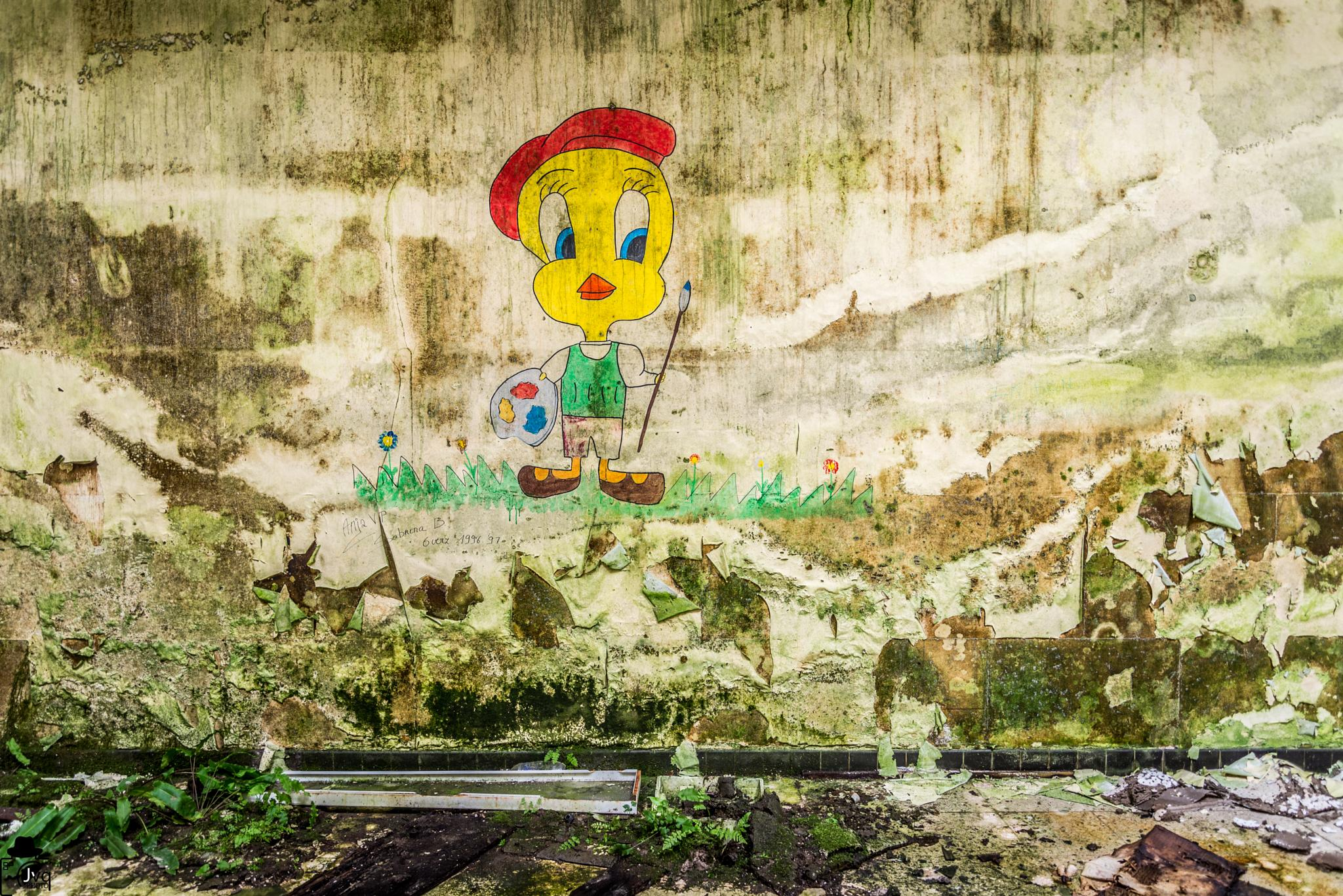 Titi de a Jungle School by Le Baroudeur