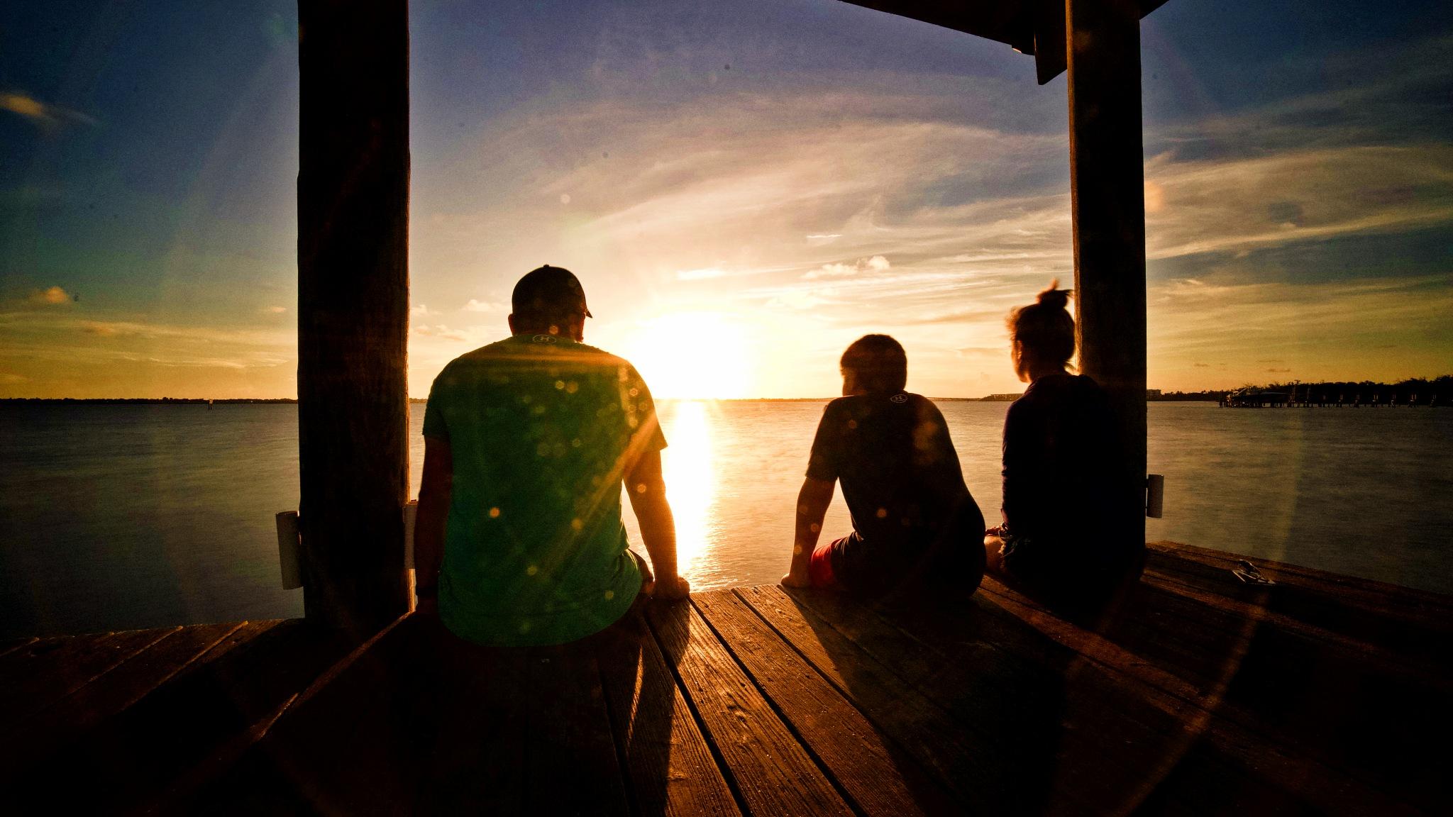 Florida sunset  by John V's Photography
