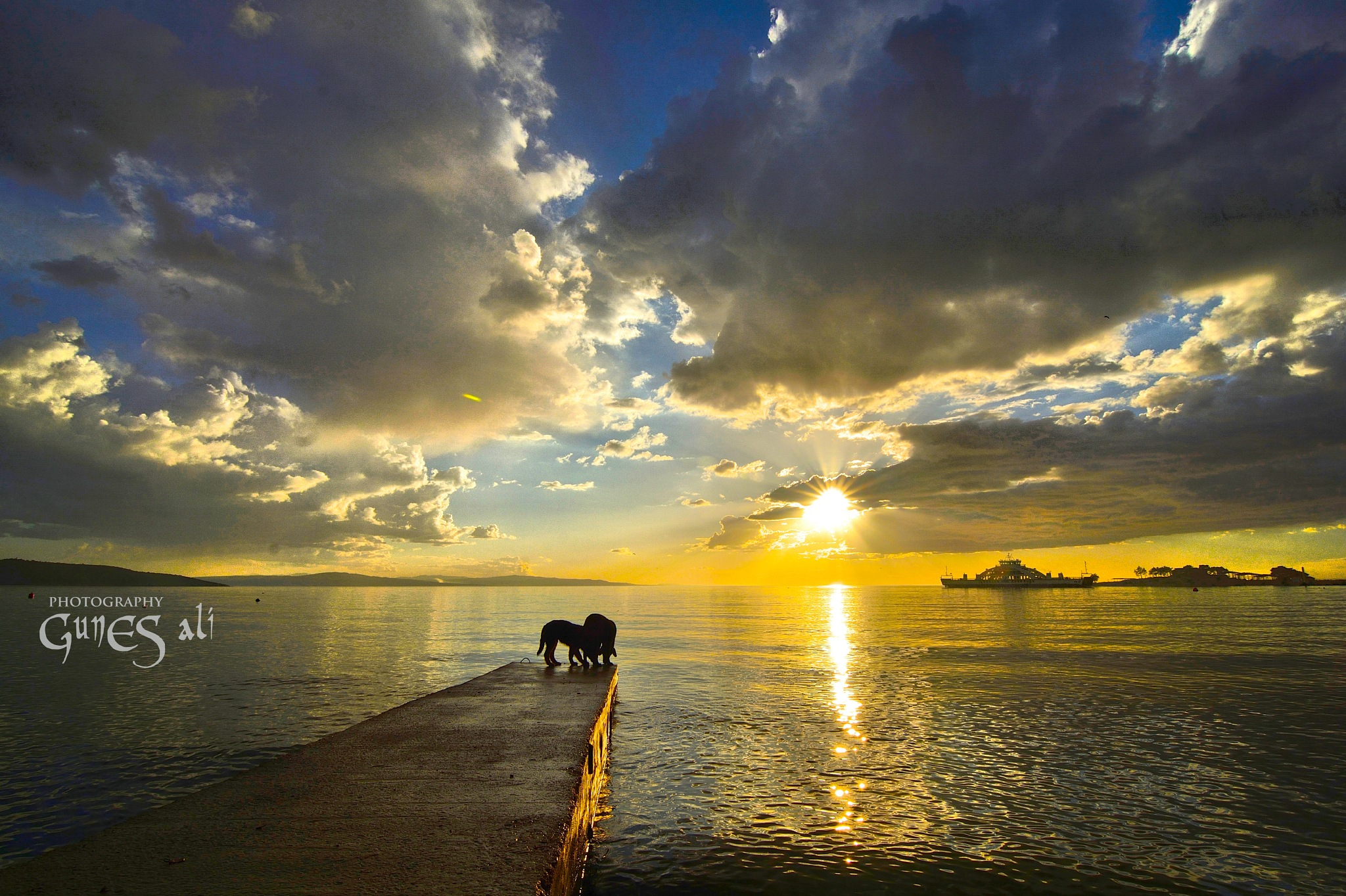 gün batışı by gunesali.photography