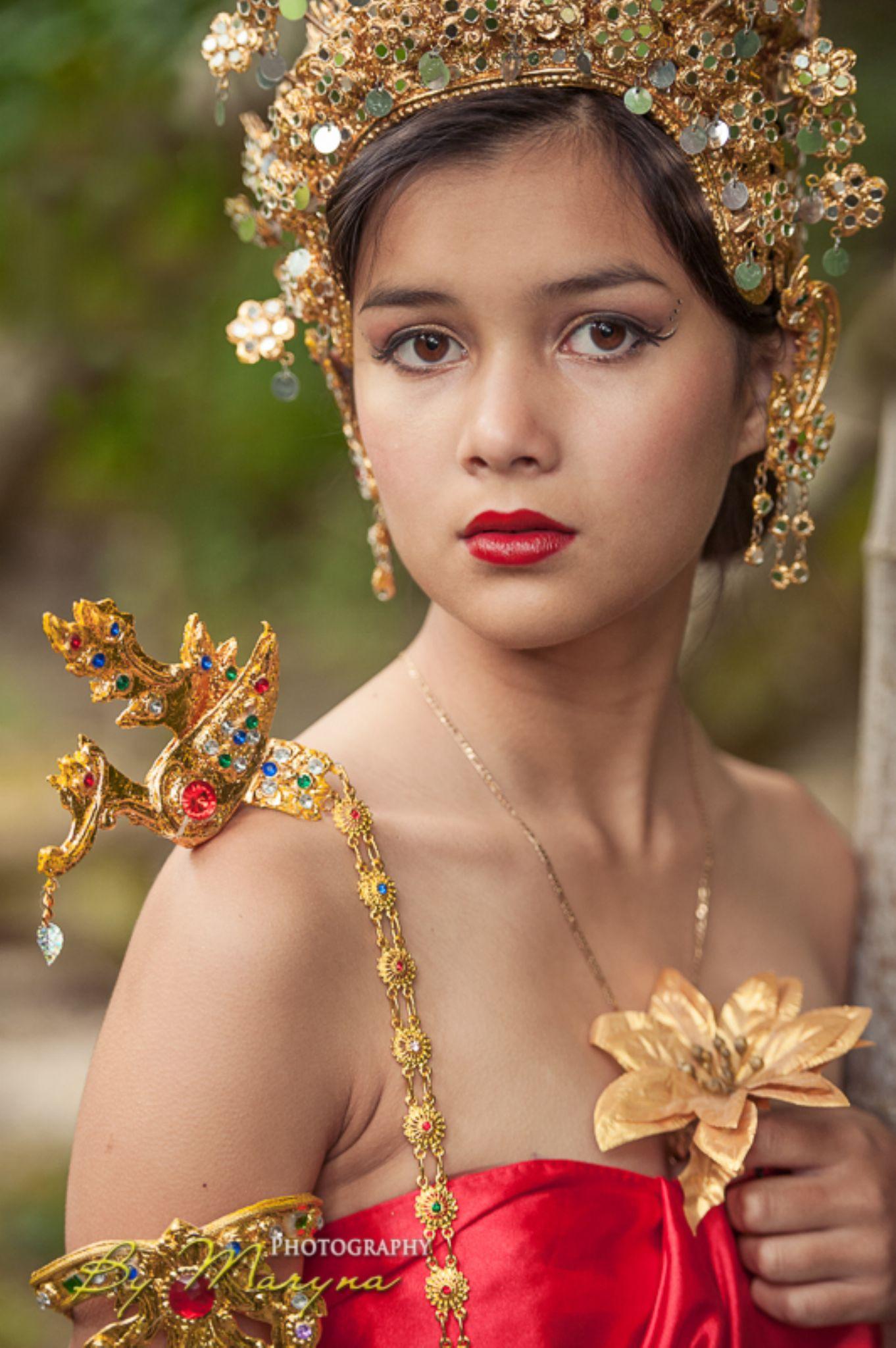 Thai Princess. Model: Suki Fisher by Maryna Halton