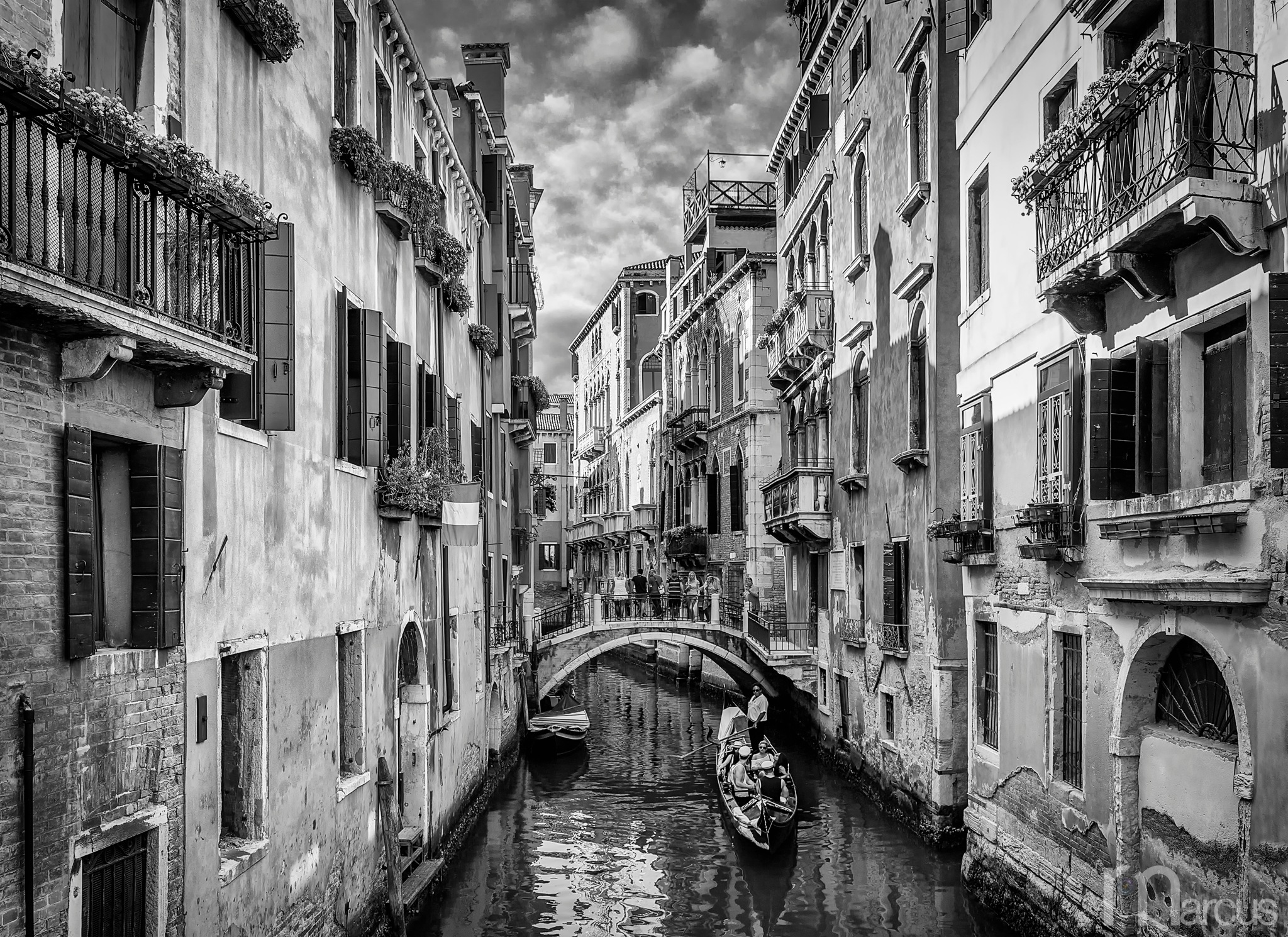 Canal Life by Richard Marcus