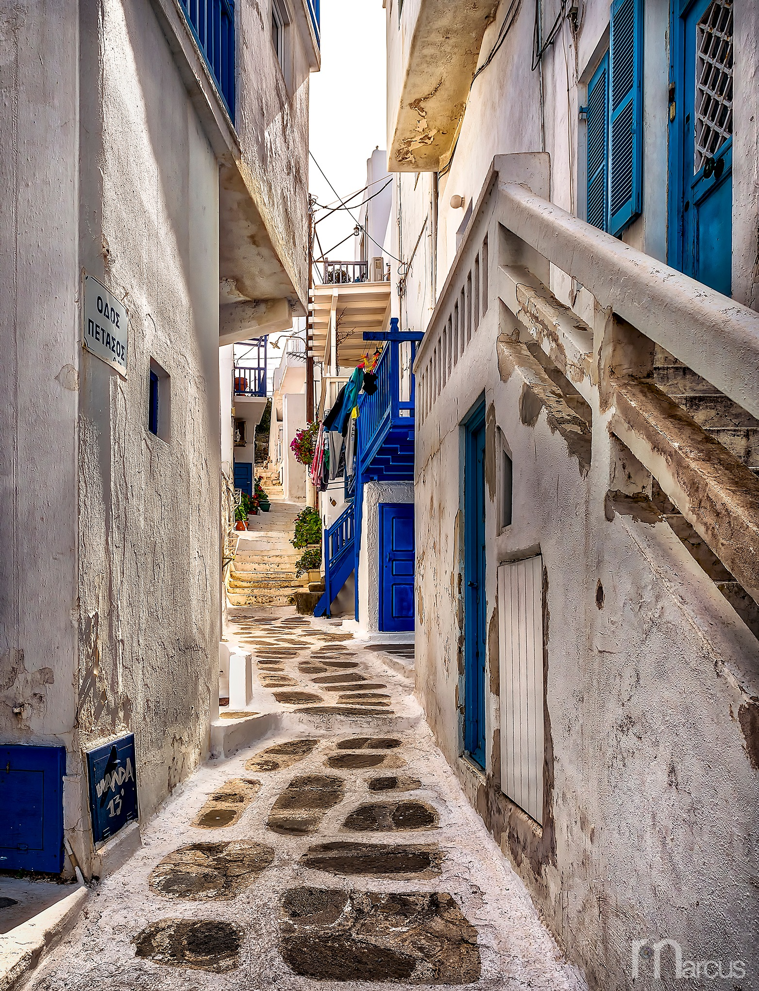 Backstreets by Richard Marcus