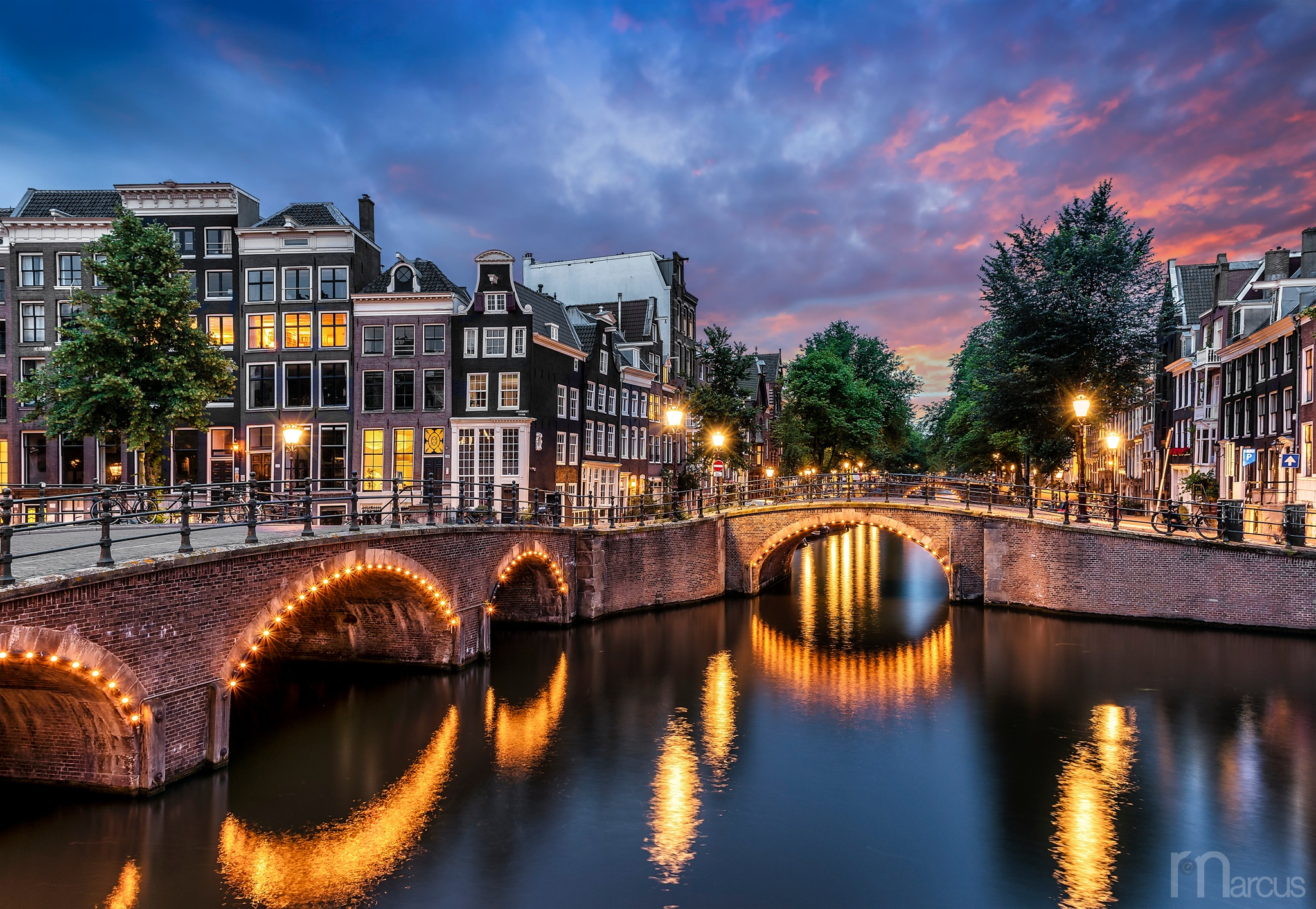 Bridges of Amsterdam by ⭐️ Richard Marcus