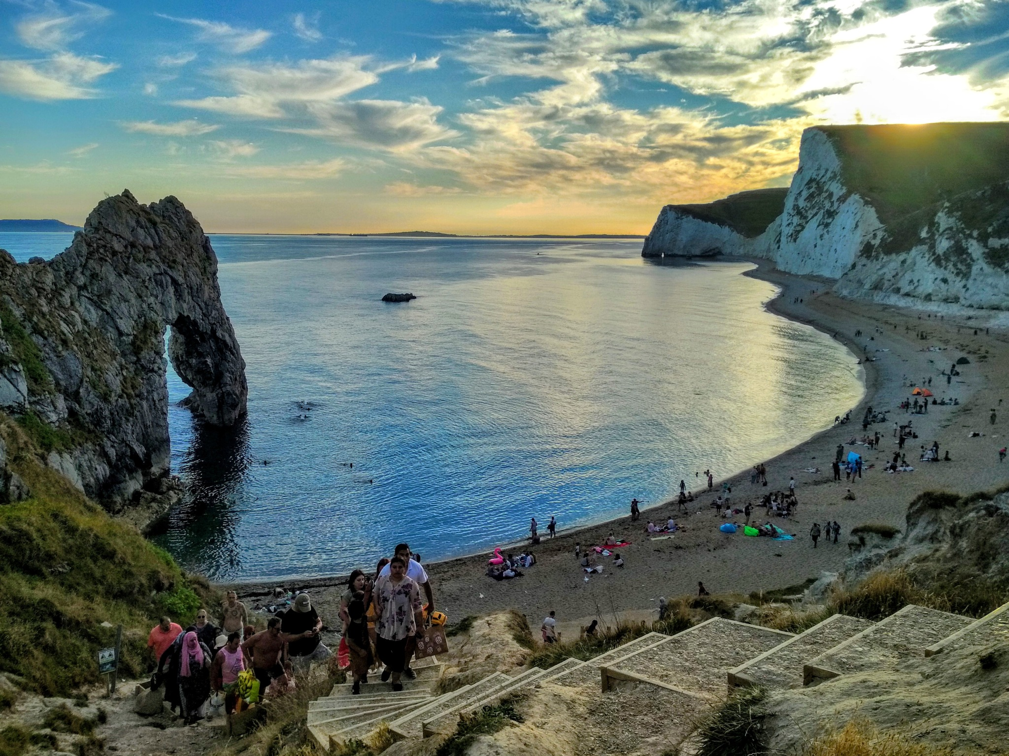 durdle door by Asia Sklizmunt