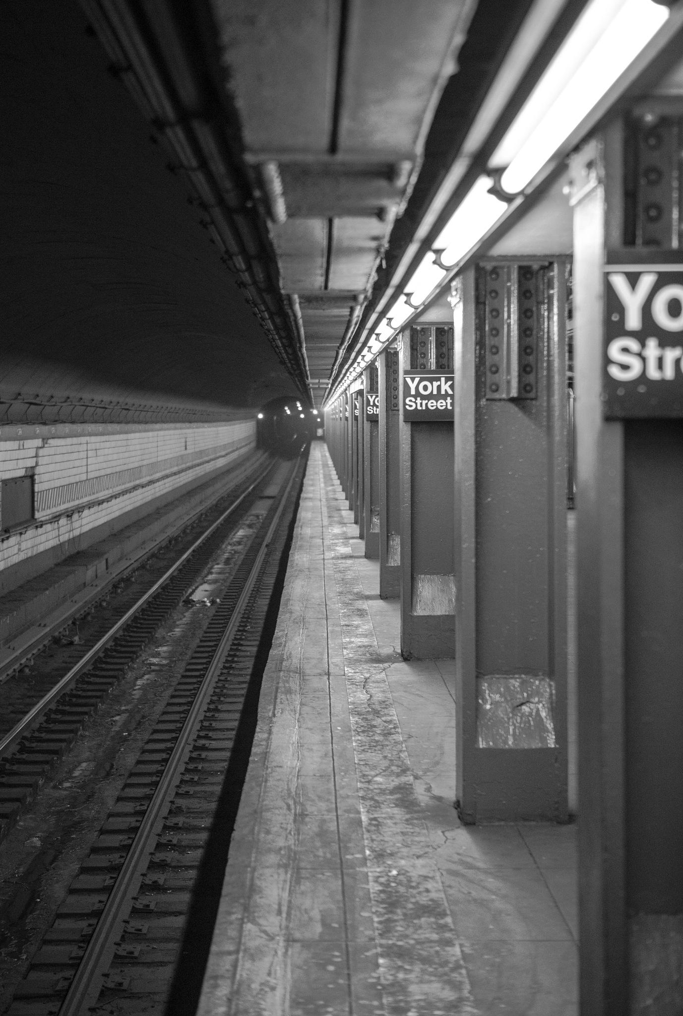 Subway Station by Piotr Krzeminski