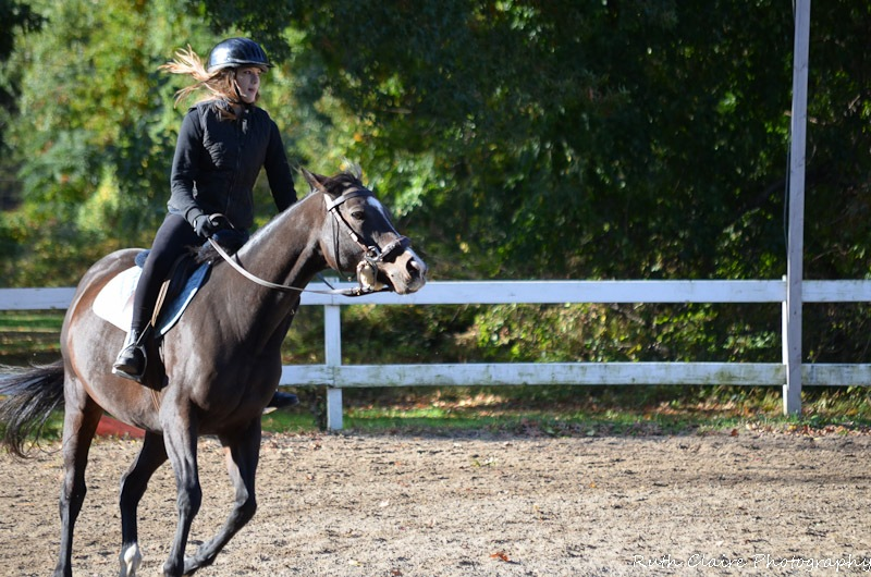 Sunday Ride with Karosel - Canter by RuthClaire