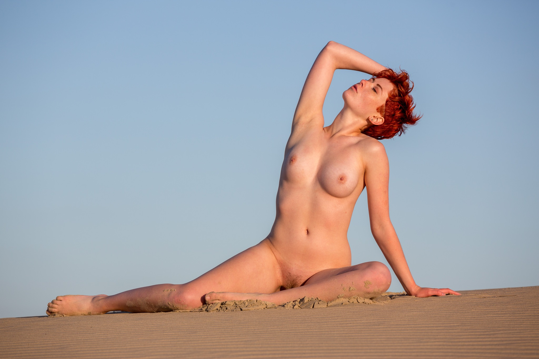 Red Hair by Michael Jaques Sell