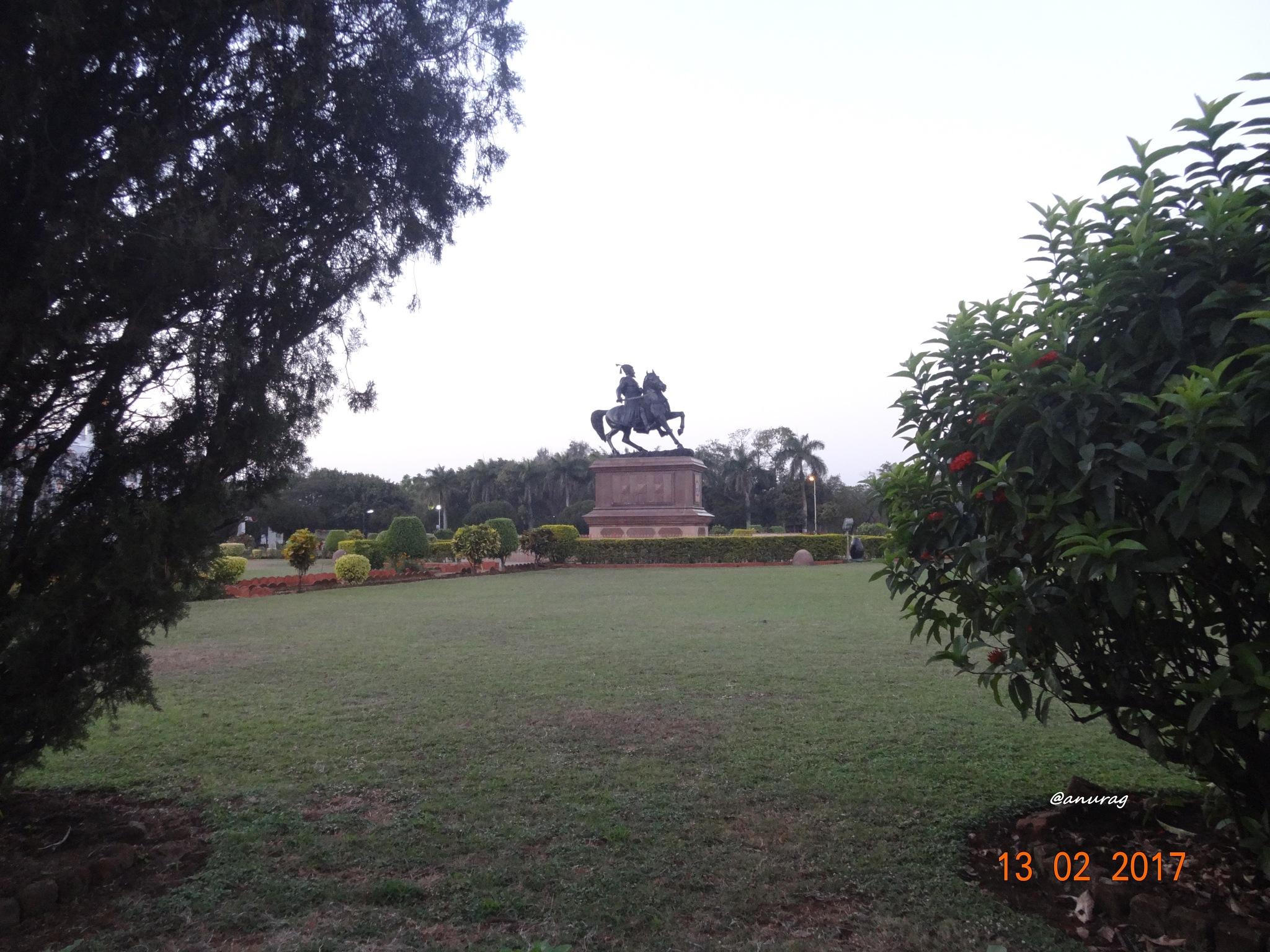 Statue of Shivaji. by anurag