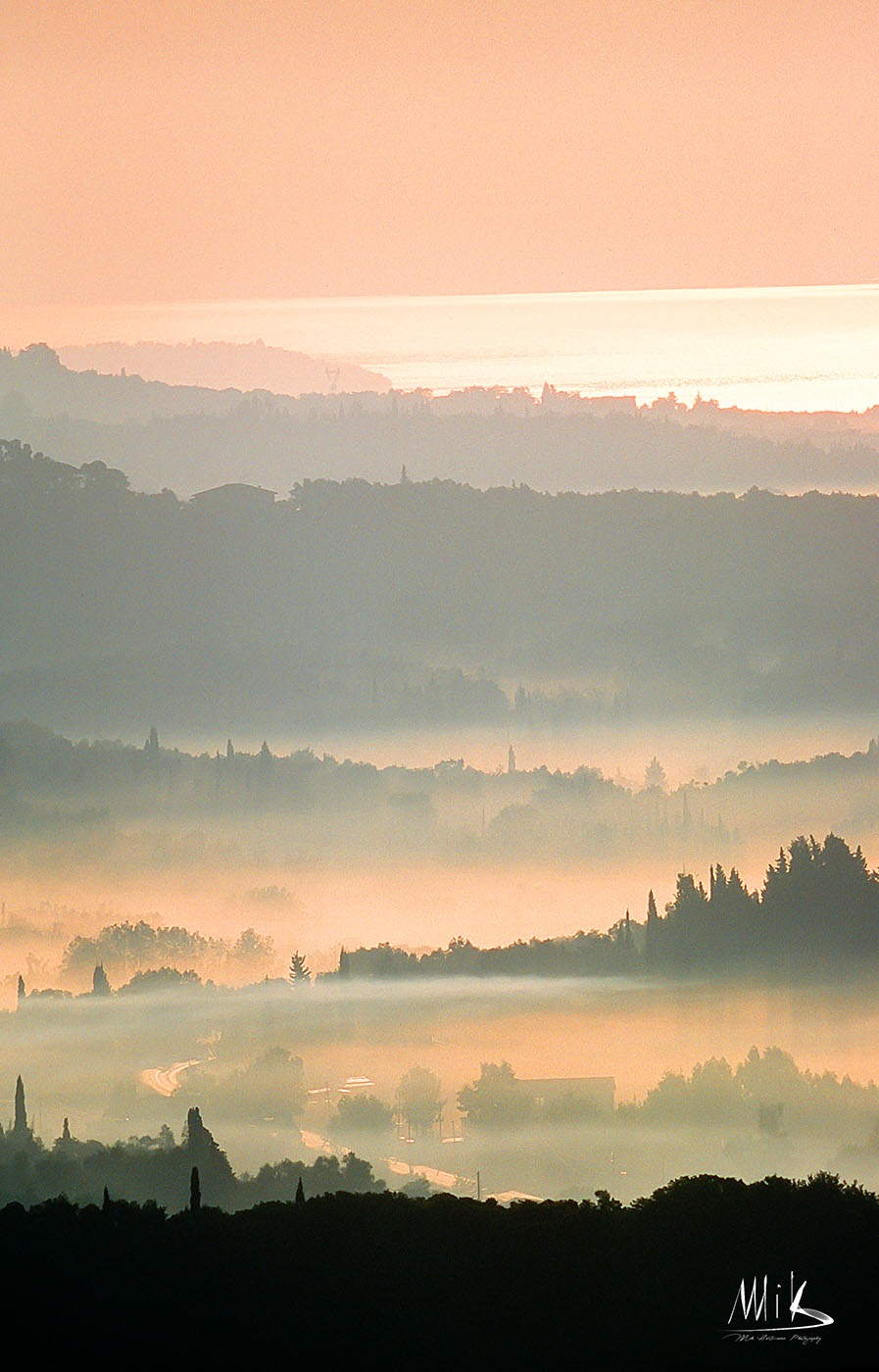 corfu landscape by Mik Hartmann