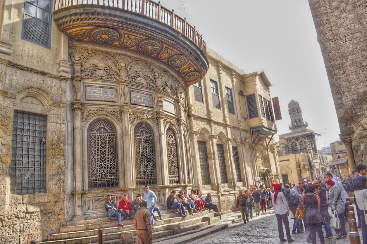 Old Cairo. by Hisham Mostafa