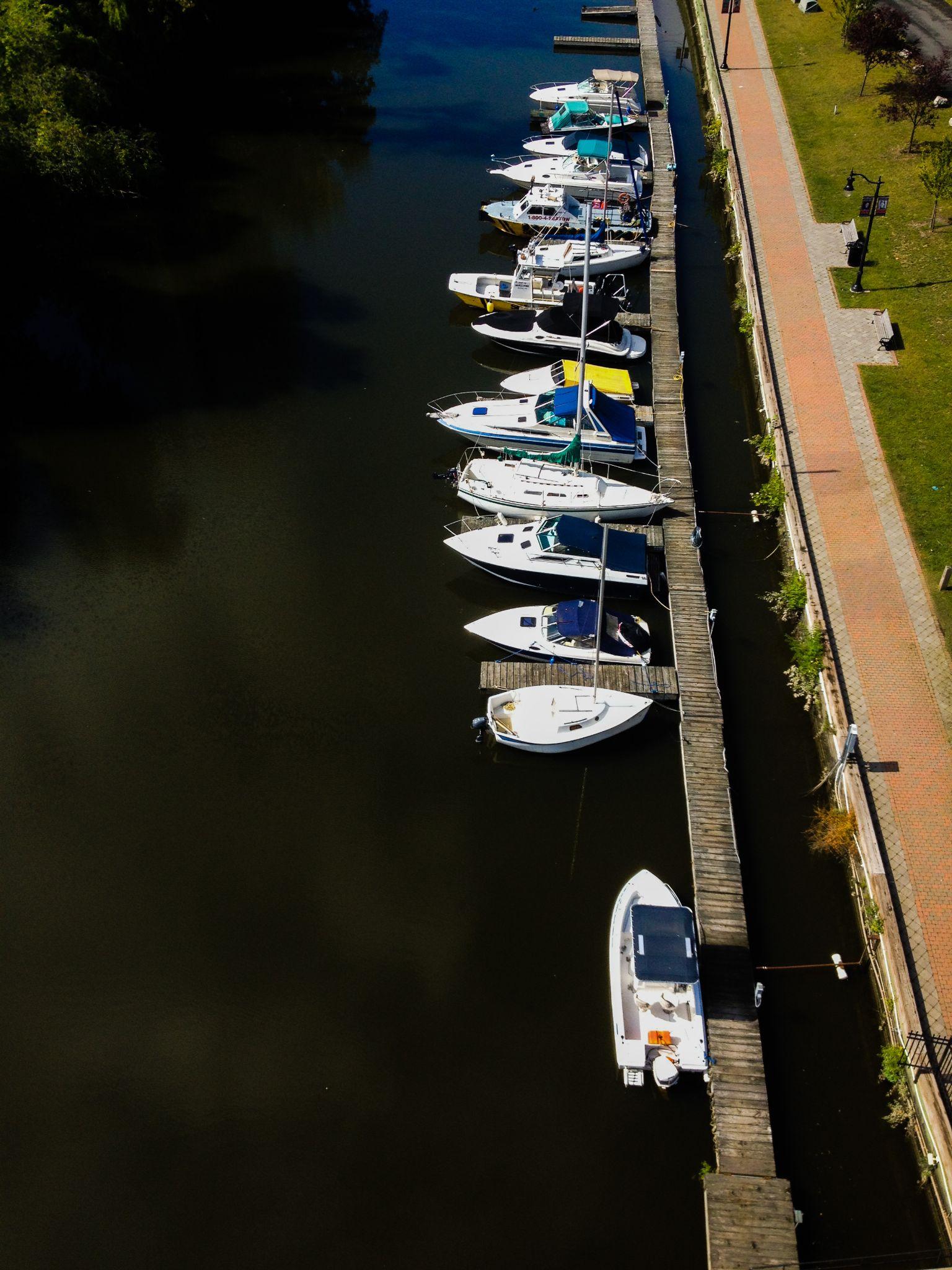 Kingston City Docks by Ruth Silvers