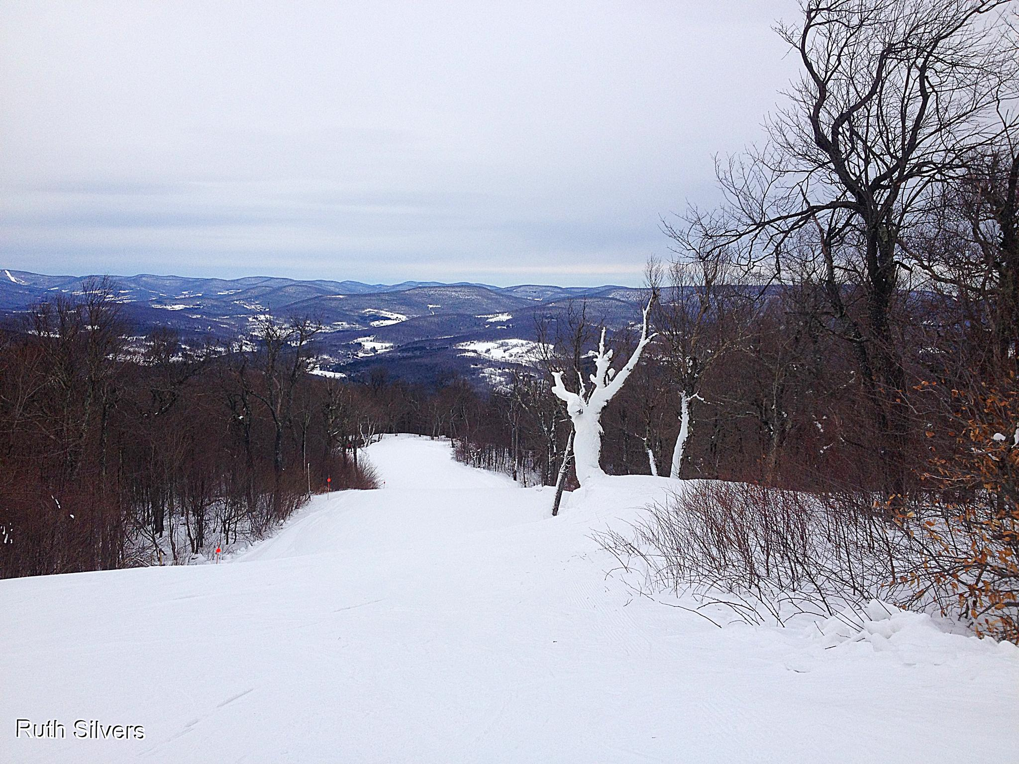 Peaks of the Catskill Mountains by Ruth Silvers