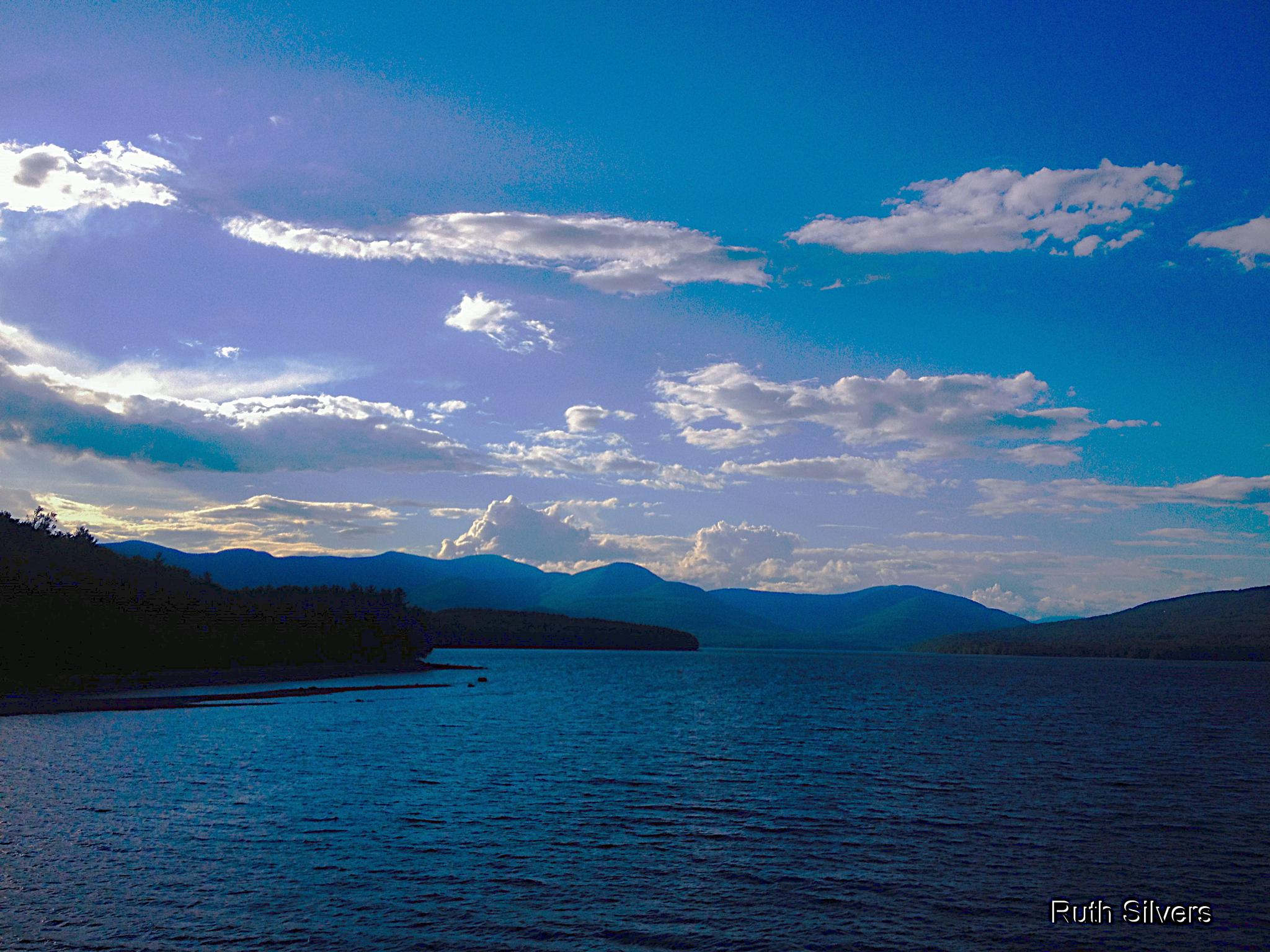 Blue mood by Ruth Silvers